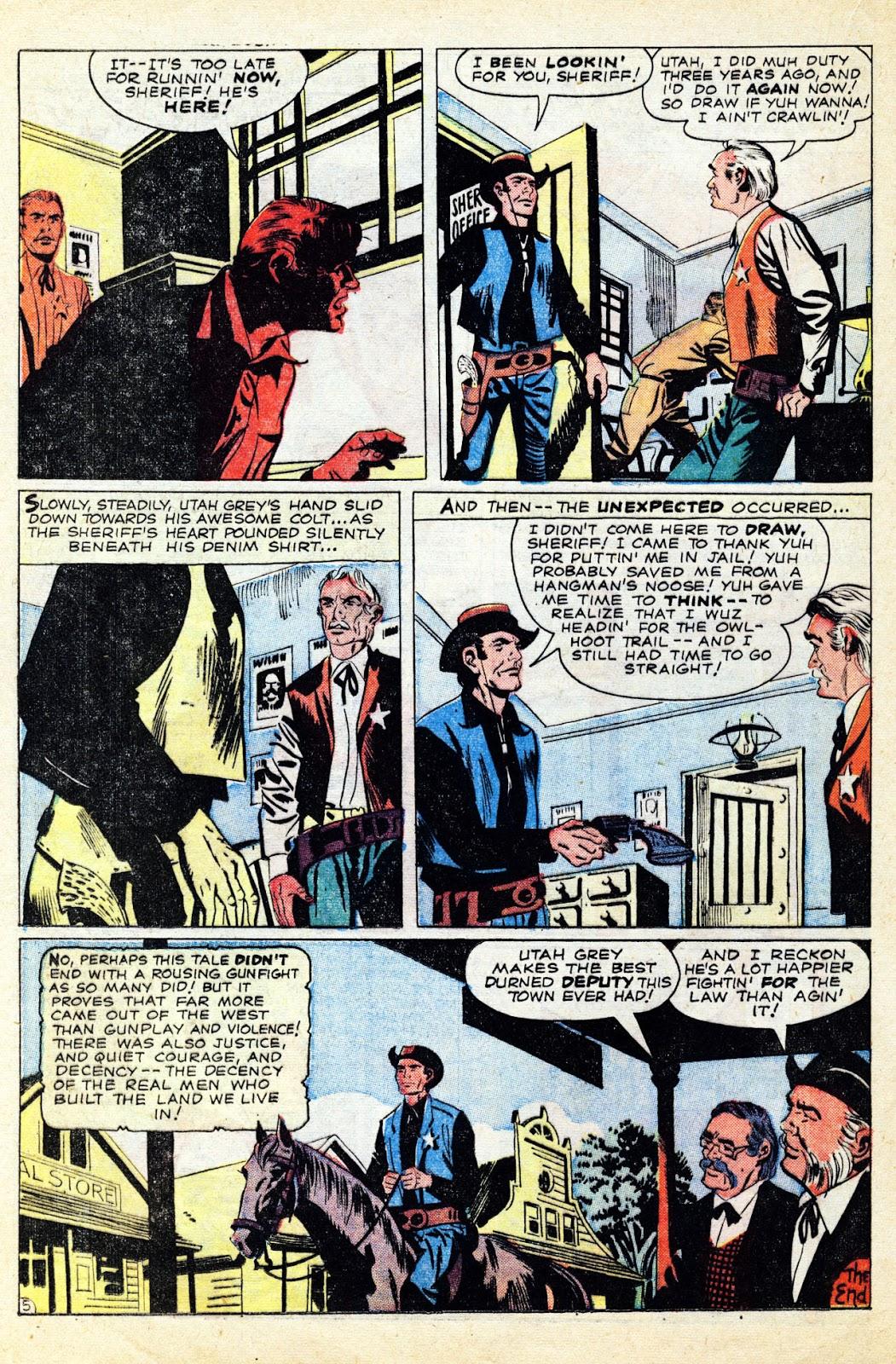 Gunsmoke Western issue 65 - Page 24