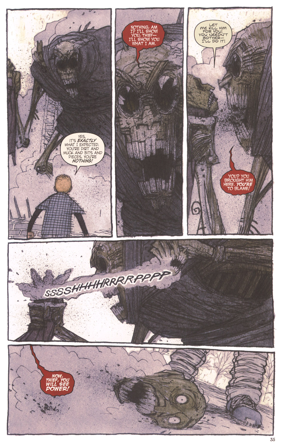 Read online Clive Barker's The Thief Of Always comic -  Issue #3 - 36