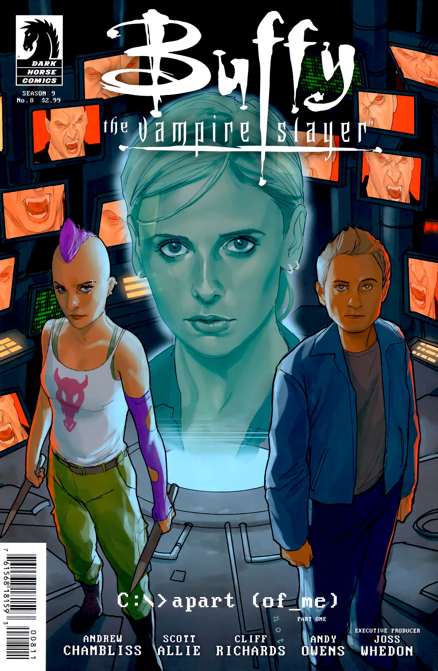 Buffy the Vampire Slayer Season Nine 8 Page 1