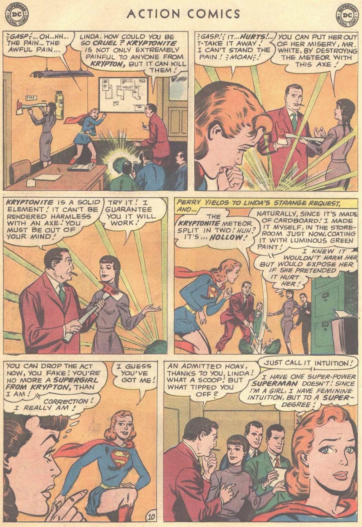 Read online Action Comics (1938) comic -  Issue #268 - 28