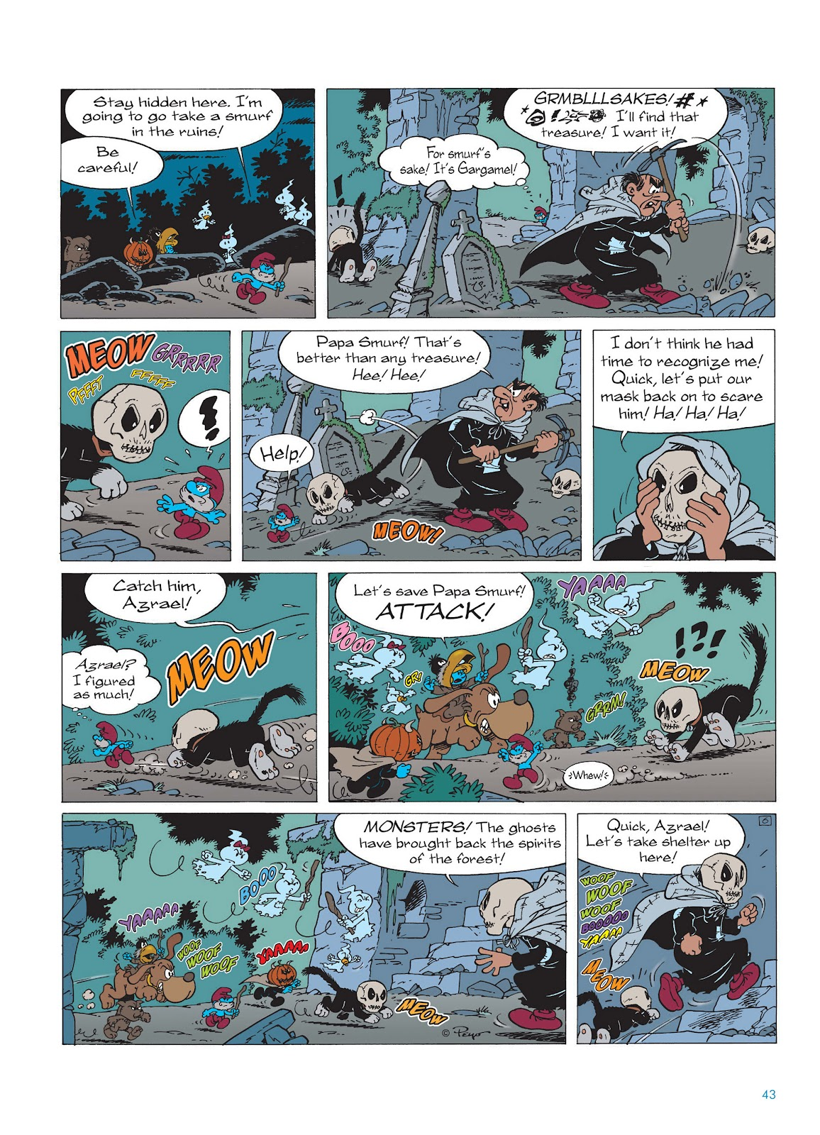 Read online The Smurfs comic -  Issue #15 - 44