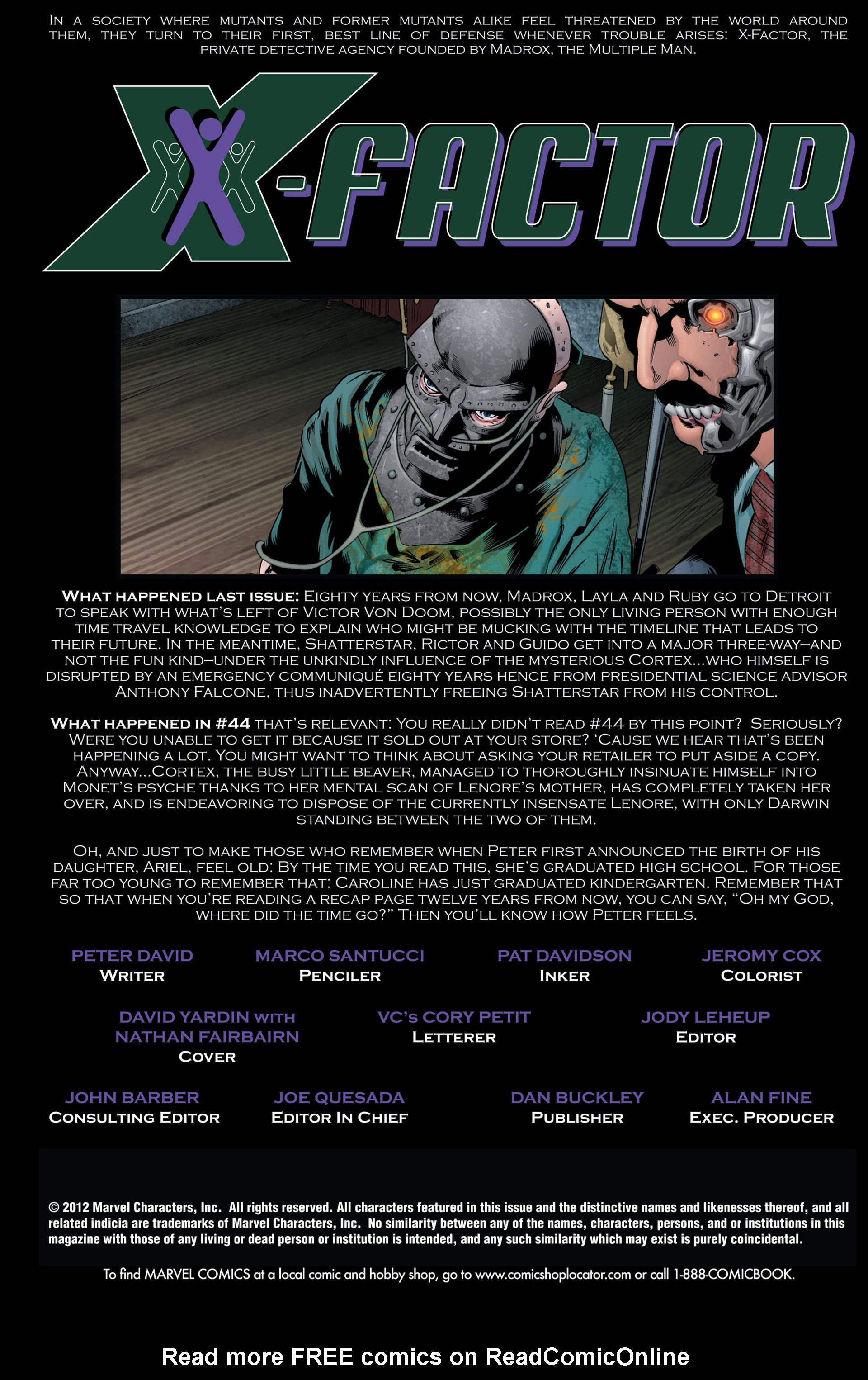 Read online X-Factor (2006) comic -  Issue #46 - 2