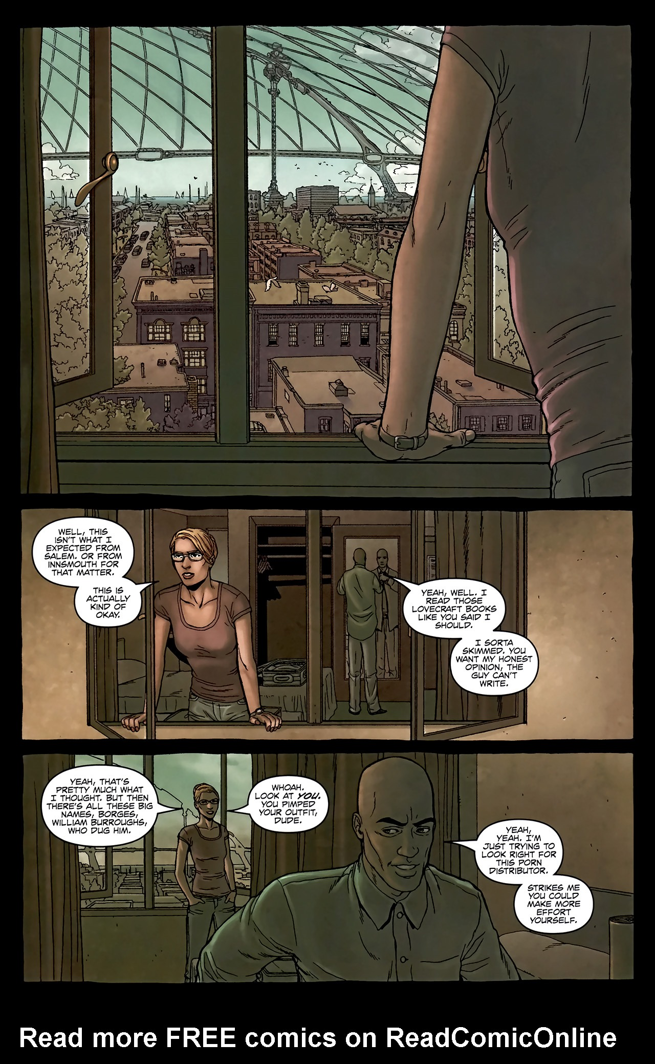Read online Alan Moore's Neonomicon comic -  Issue #2 - 10