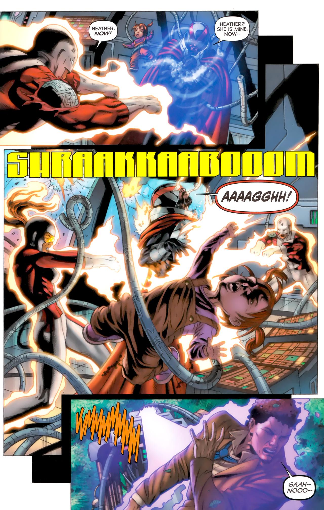 Read online Alpha Flight (2011) comic -  Issue #8 - 19