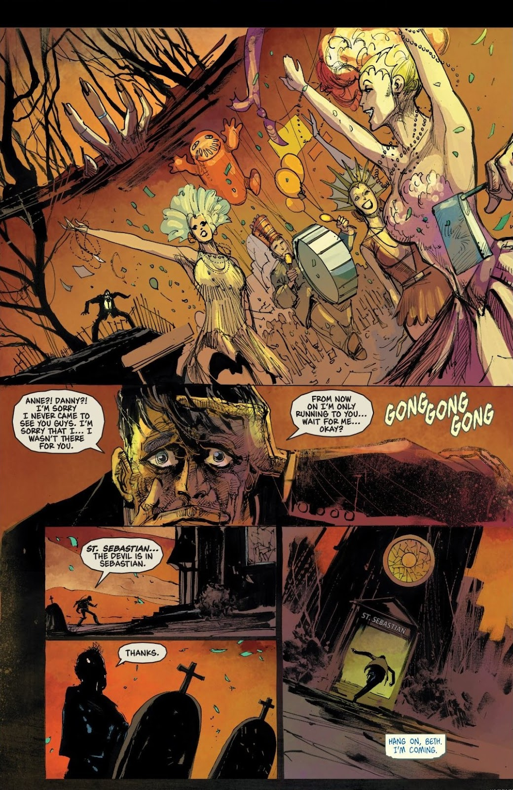 Read online Trick 'r Treat: Days of the Dead comic -  Issue # TPB - 89