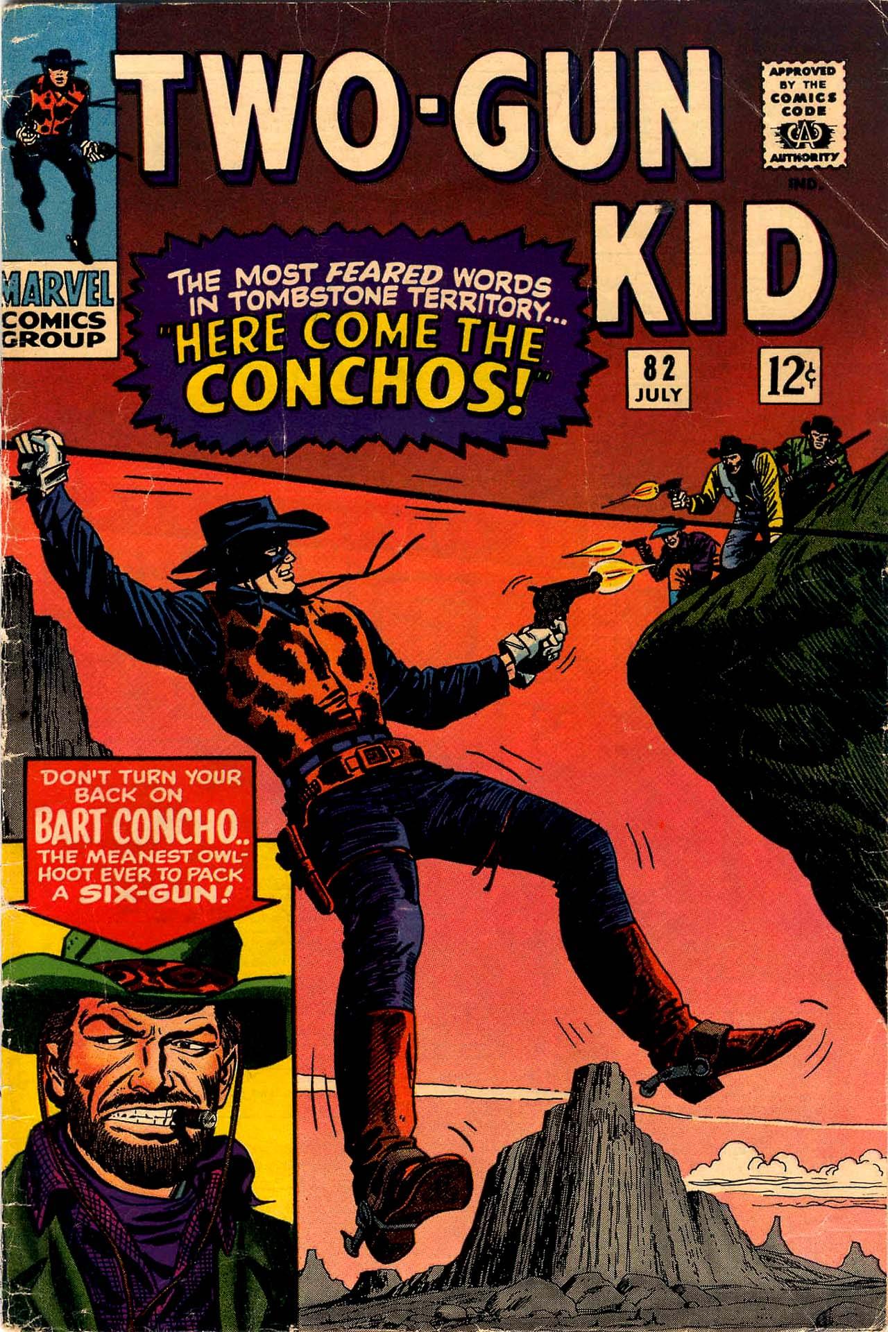 Read online Two-Gun Kid comic -  Issue #82 - 1