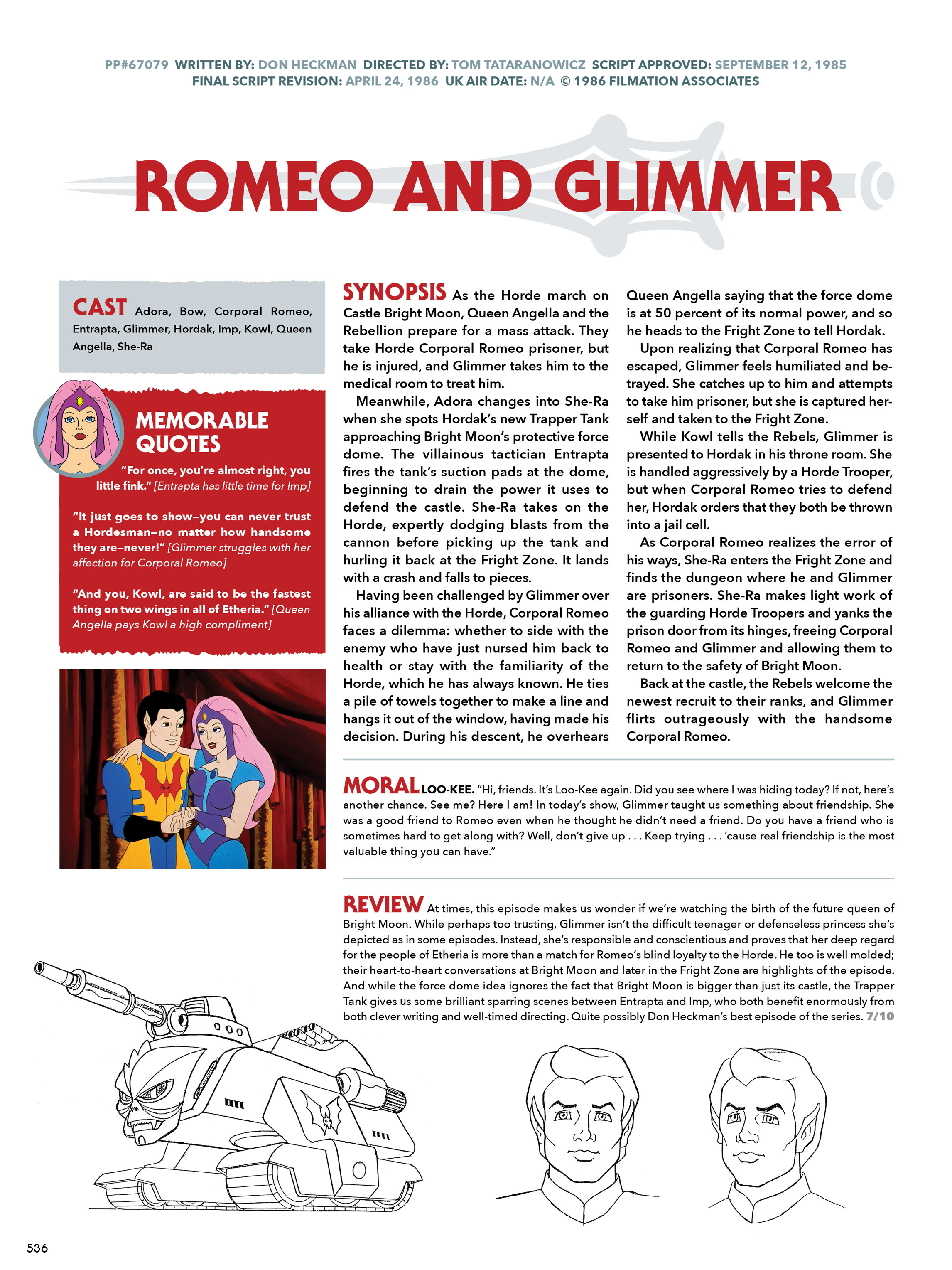 Read online He-Man and She-Ra: A Complete Guide to the Classic Animated Adventures comic -  Issue # TPB (Part 3) - 136