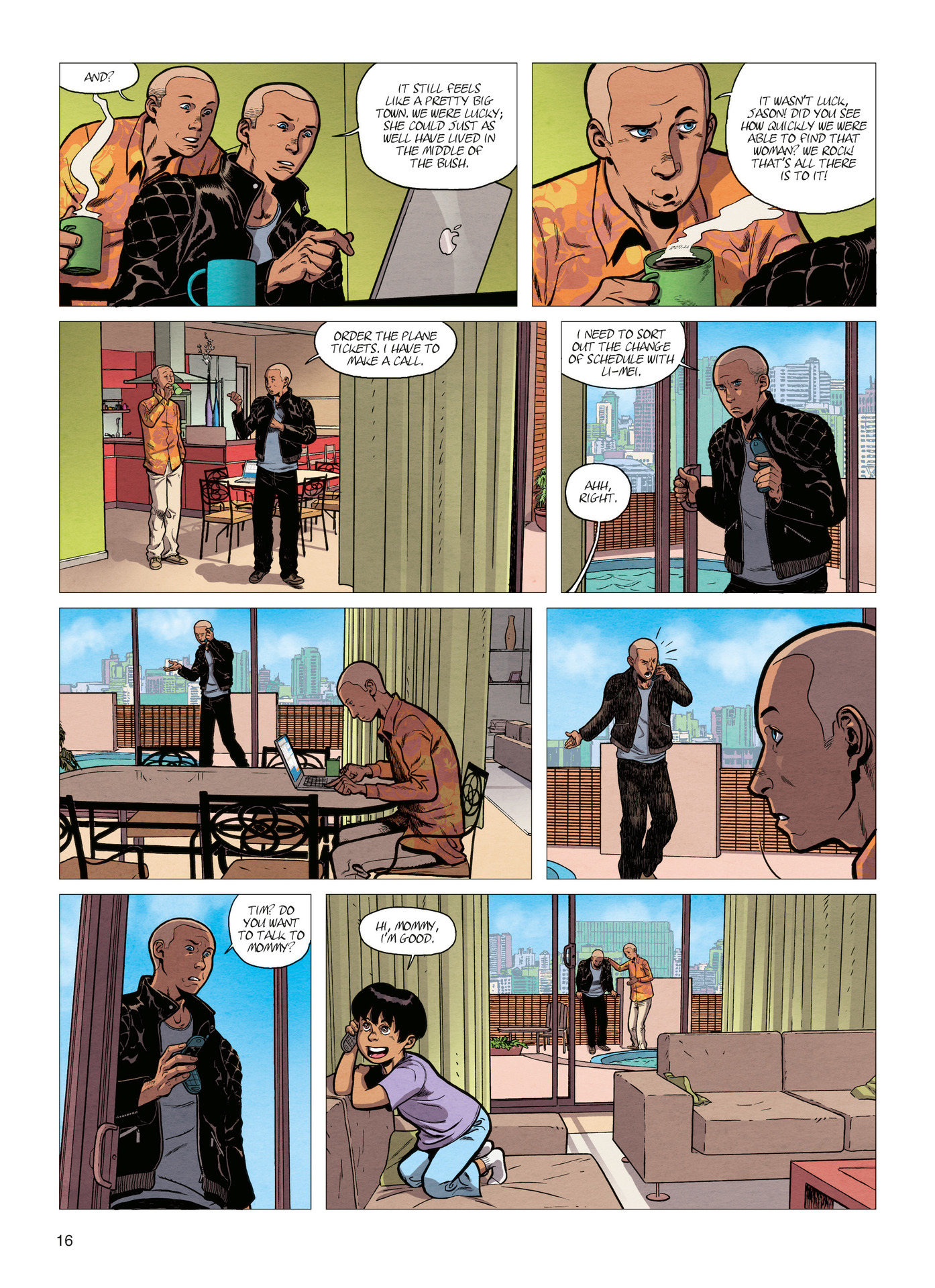 Read online Alter Ego comic -  Issue #4 - 18