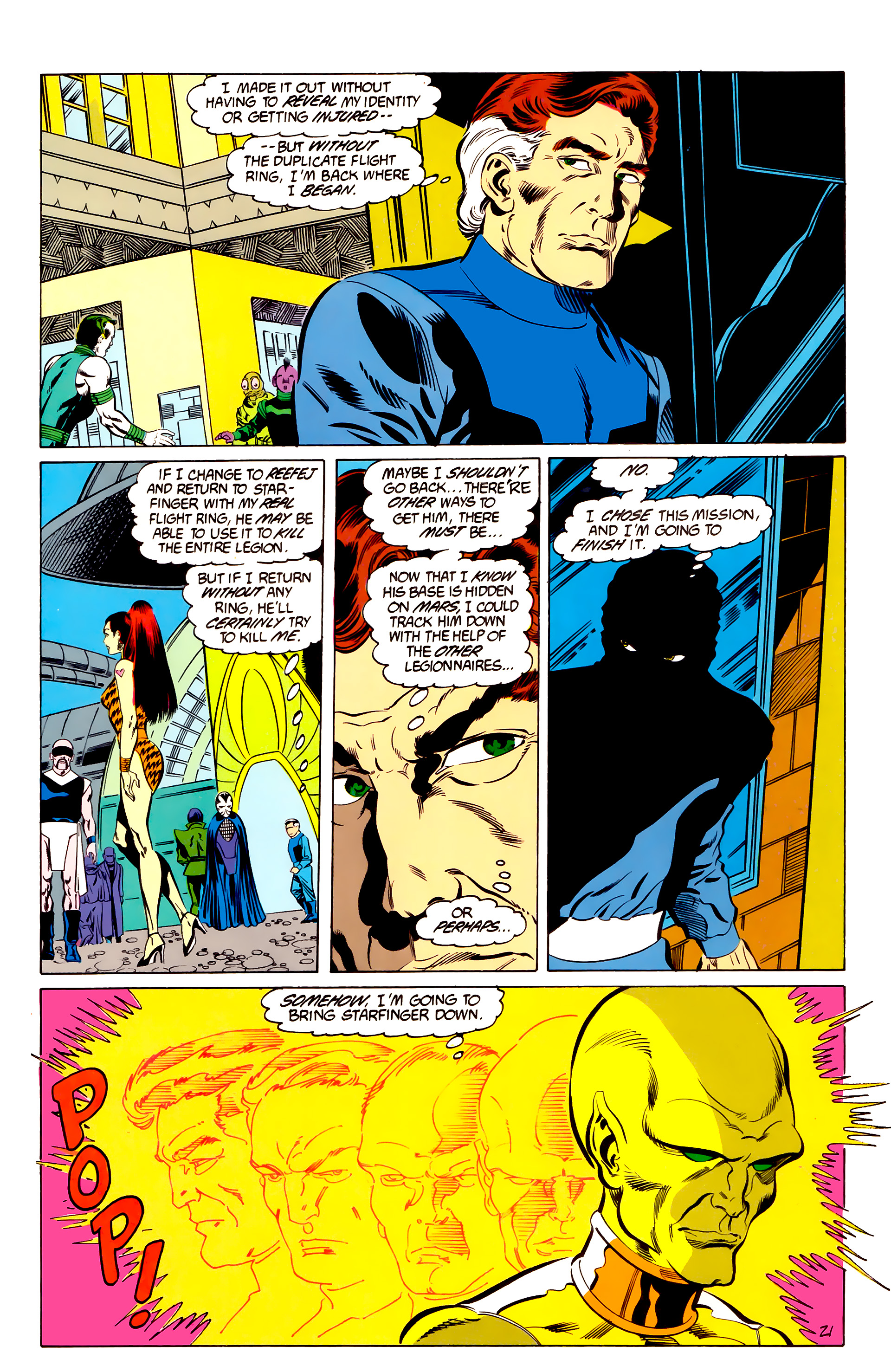 Legion of Super-Heroes (1984) 48 Page 21