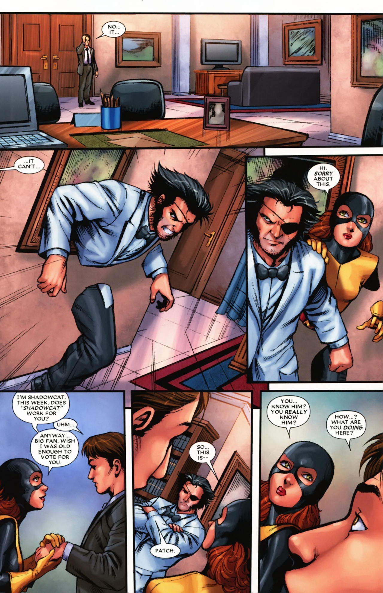 Read online Wolverine: First Class comic -  Issue #17 - 11