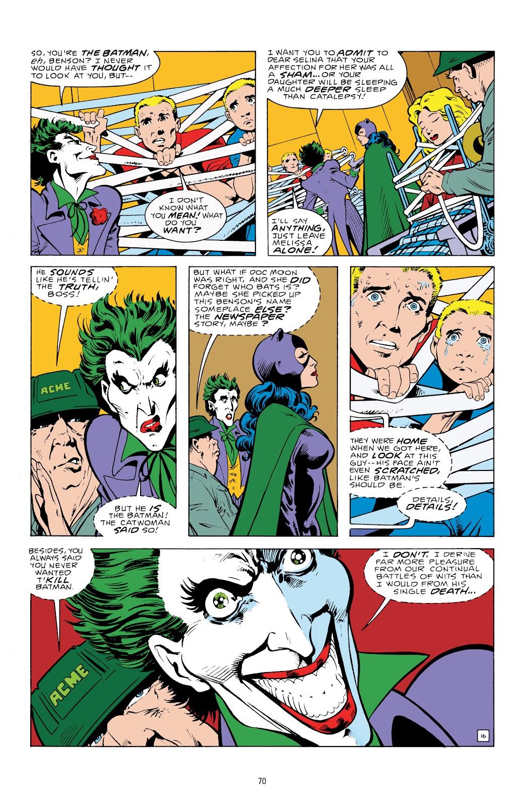 Read online Detective Comics (1937) comic -  Issue # _TPB Batman - The Dark Knight Detective 1 (Part 1) - 70