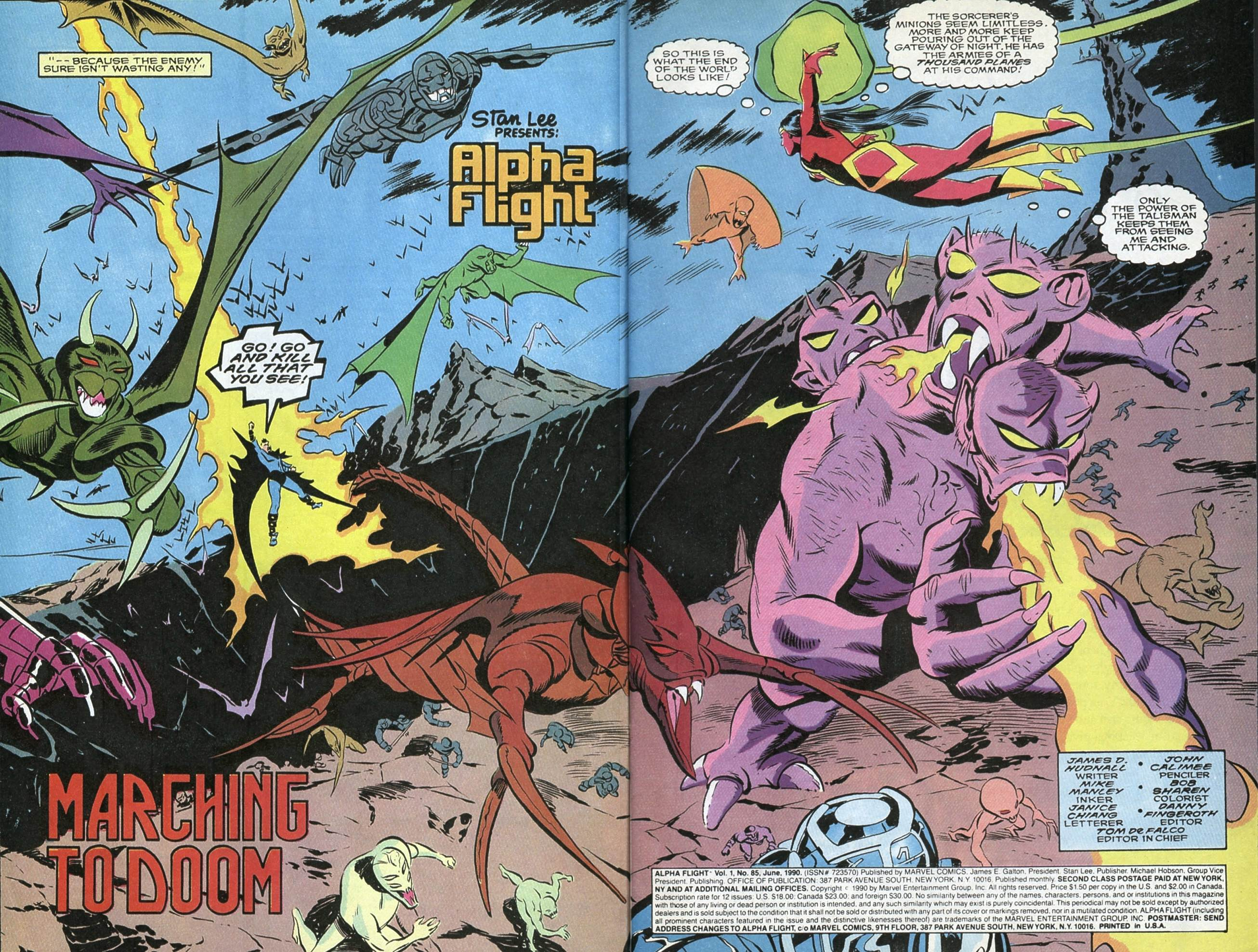Read online Alpha Flight (1983) comic -  Issue #85 - 4