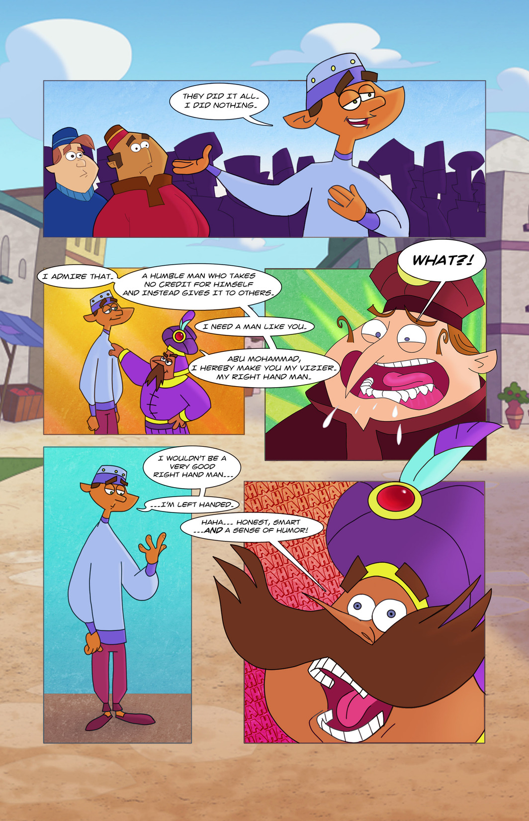 Read online 1001 Nights comic -  Issue #8 - 19