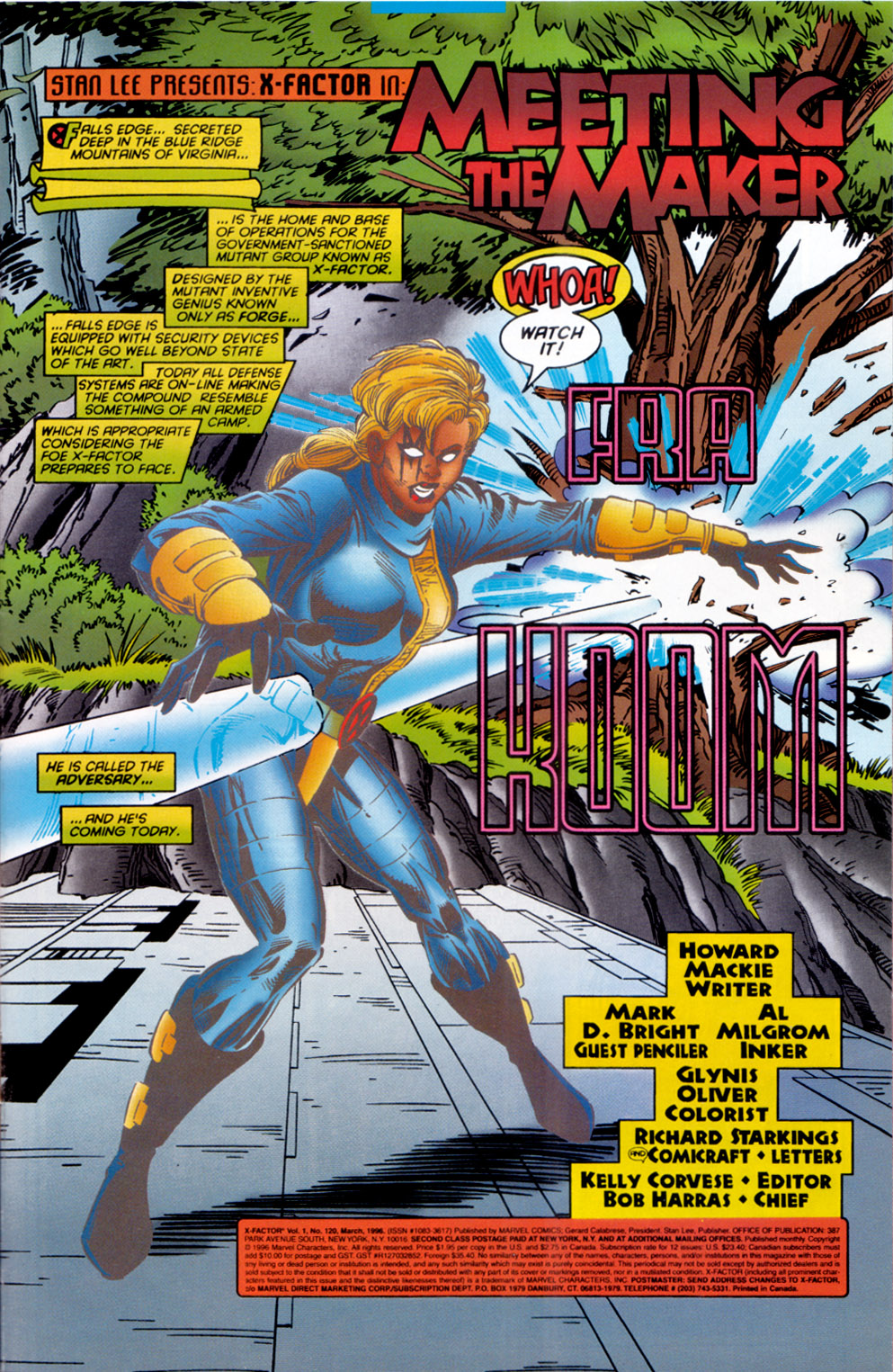Read online X-Factor (1986) comic -  Issue #120 - 2