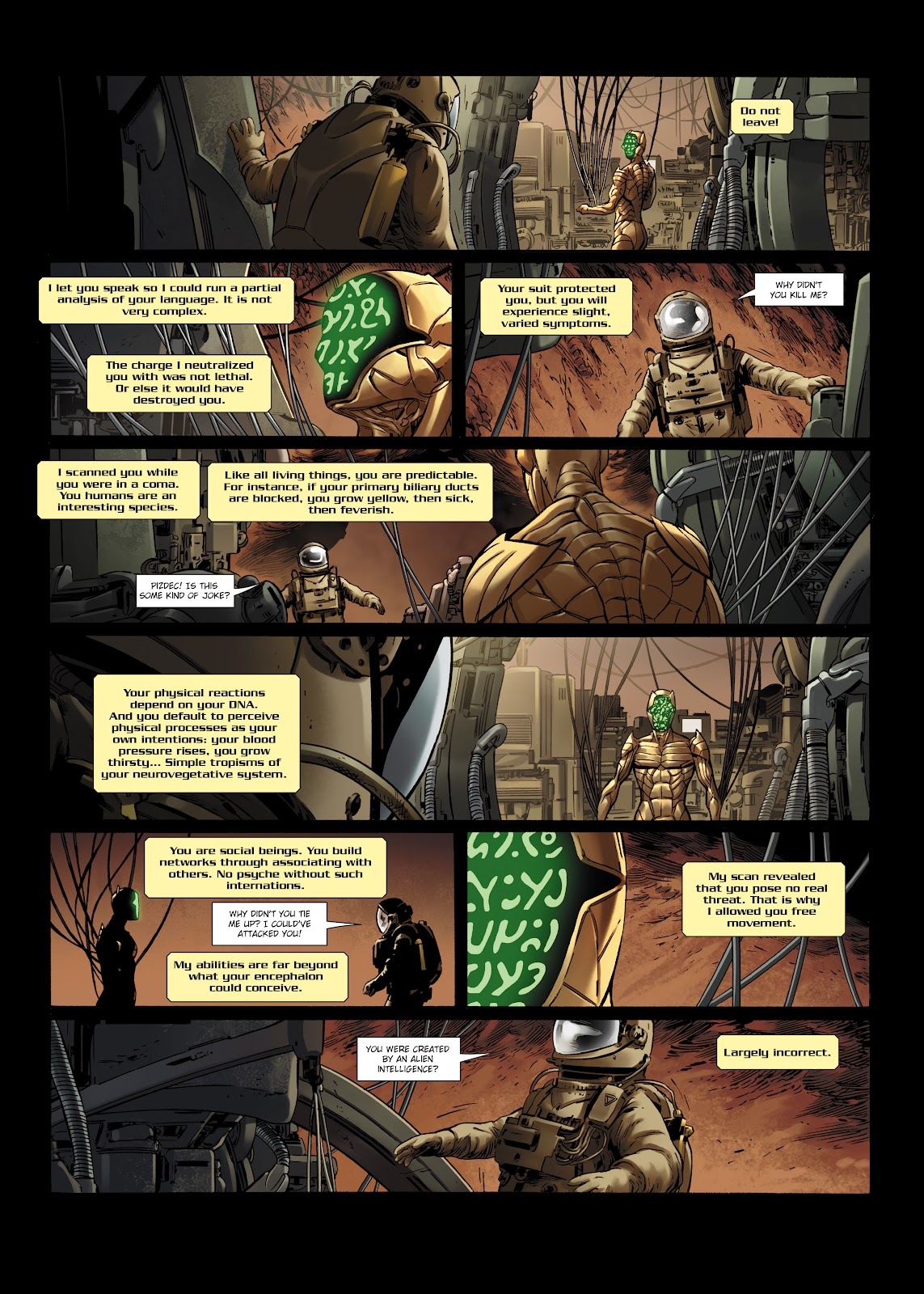 Read online Olympus Mons Vol. 1: Anomaly One comic -  Issue #5 - 13