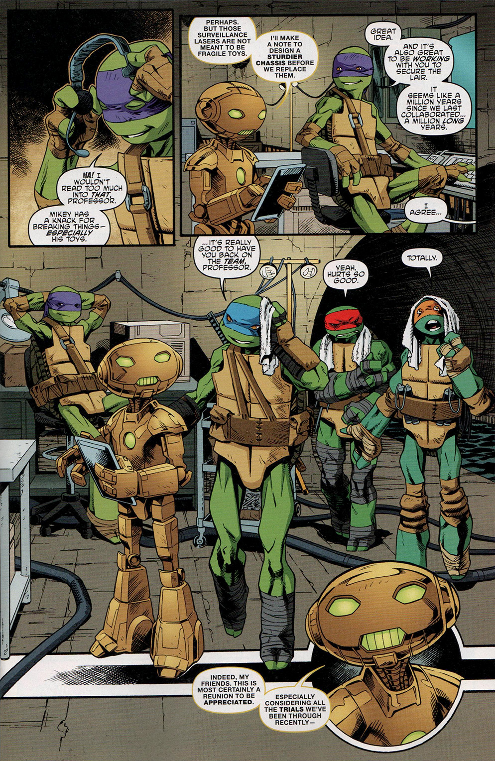 Read online Free Comic Book Day 2017 comic -  Issue # Teenage Mutant Ninja Turtles - 7