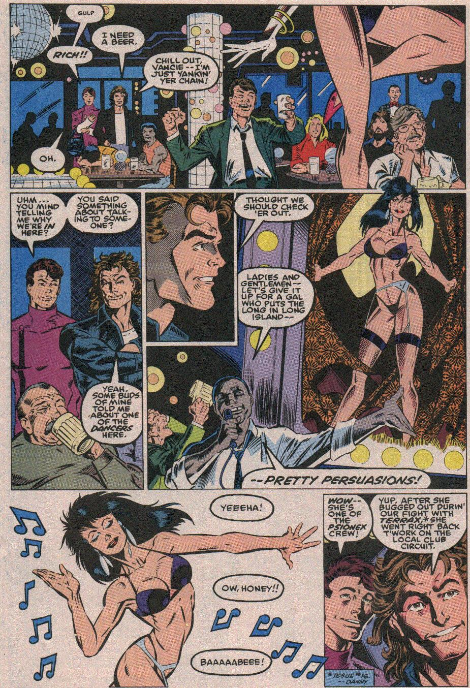 The New Warriors Issue #18 #22 - English 6