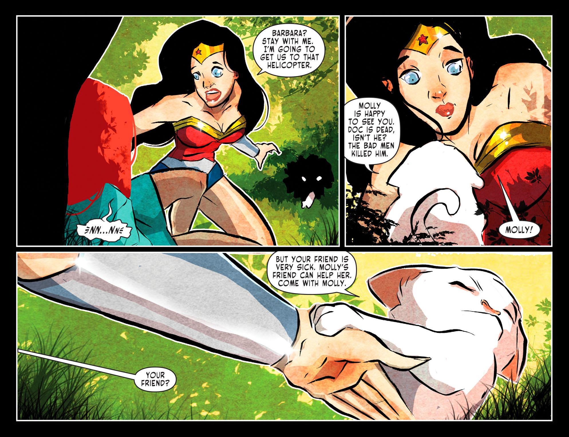 Read online Sensation Comics Featuring Wonder Woman comic -  Issue #51 - 4