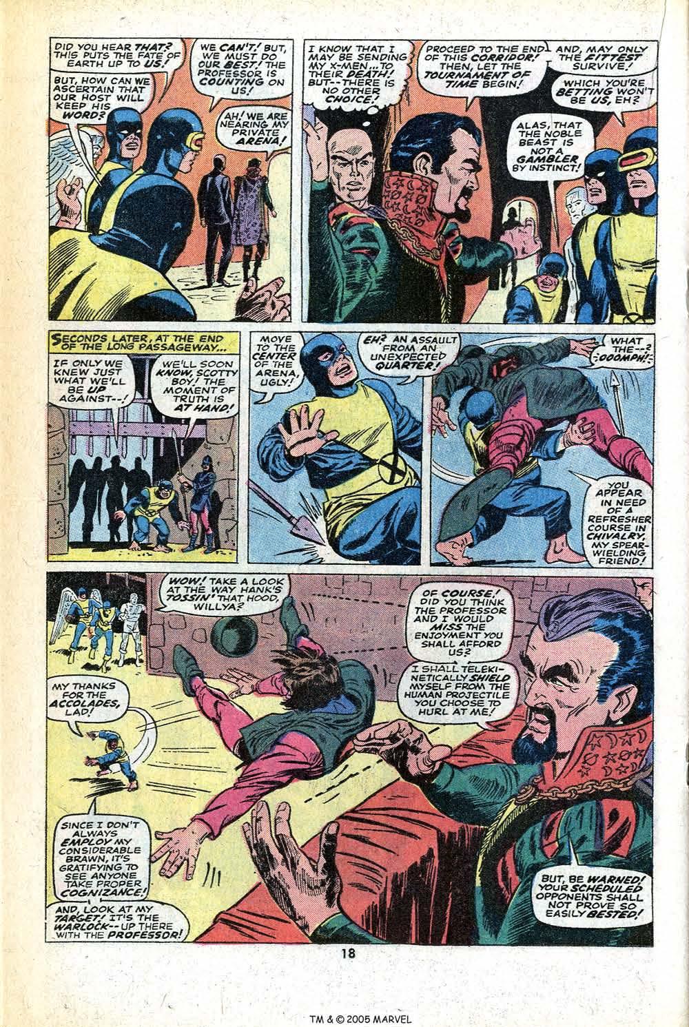 Read online Uncanny X-Men (1963) comic -  Issue #78 - 20