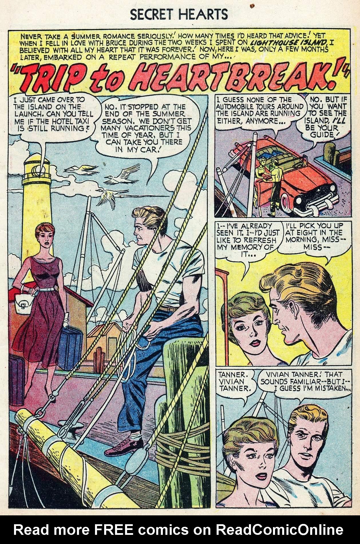 Read online Secret Hearts comic -  Issue #25 - 11