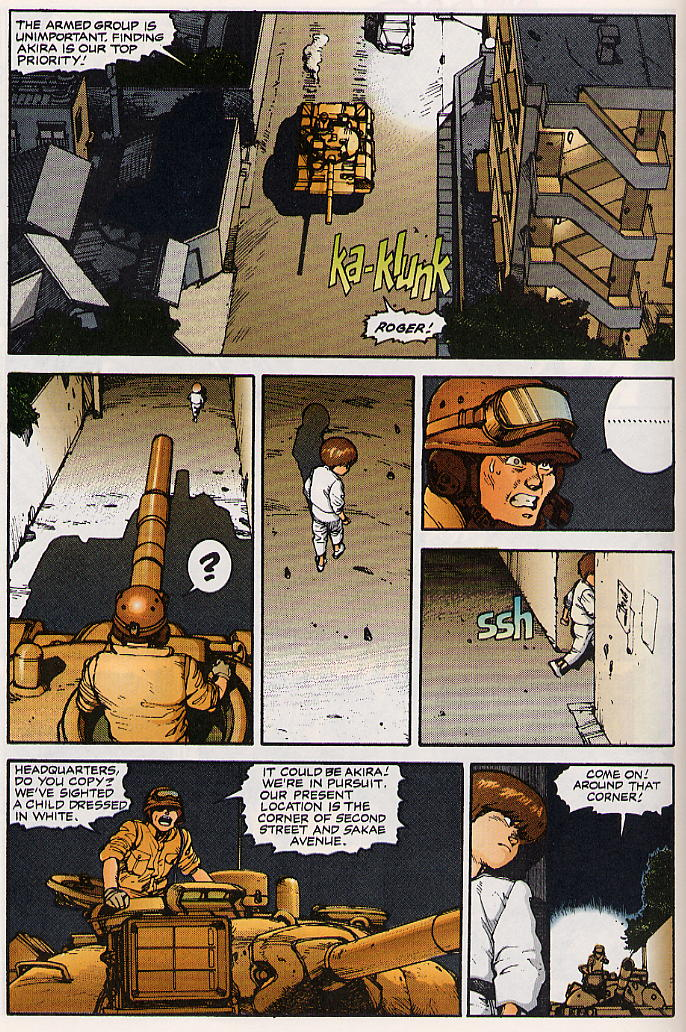 Read online Akira comic -  Issue #15 - 15