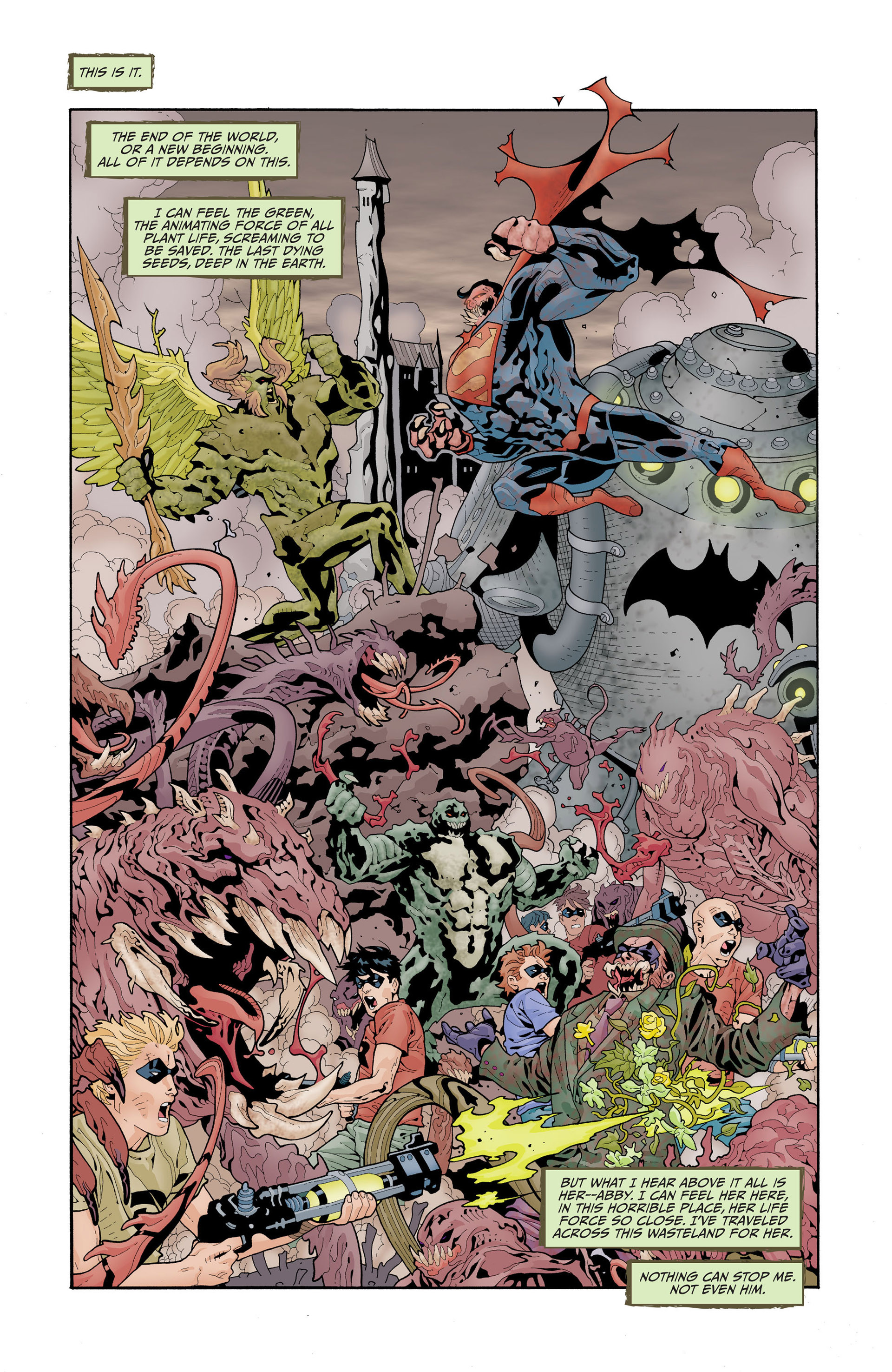 Read online Animal Man (2011) comic -  Issue #17 - 6