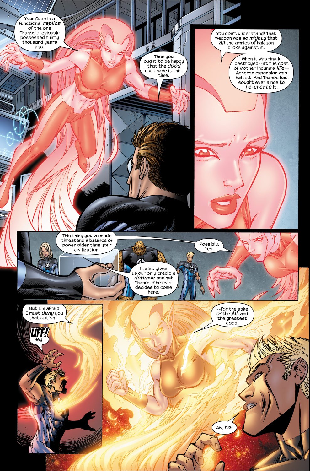 Read online Ultimate Fantastic Four (2004) comic -  Issue #50 - 11