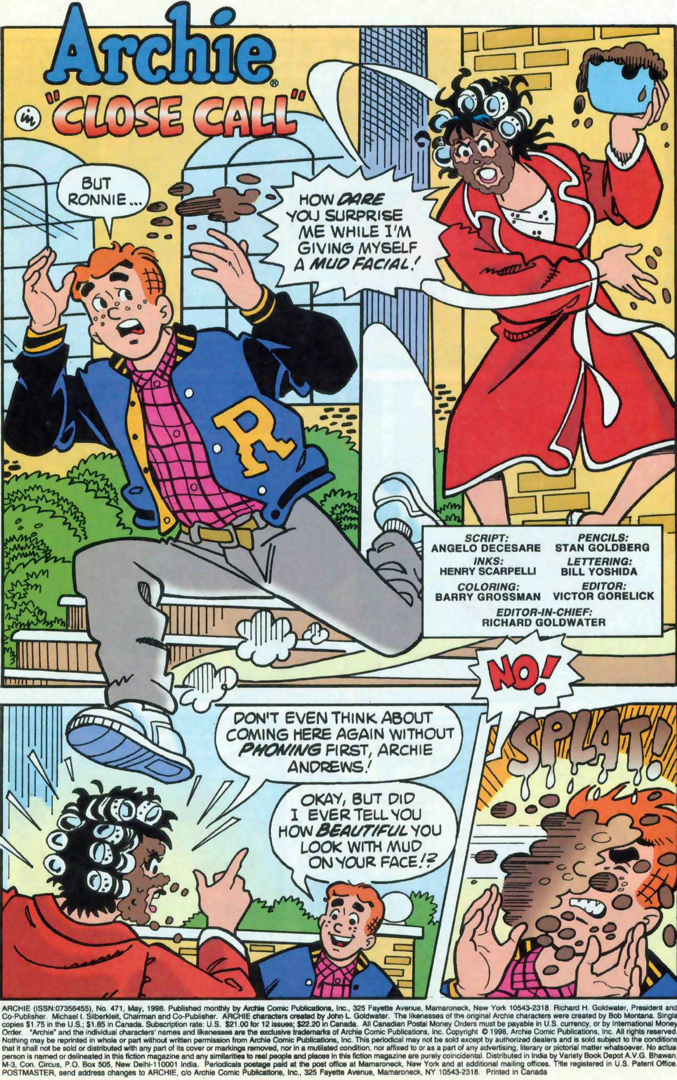 Read online Archie (1960) comic -  Issue #471 - 2