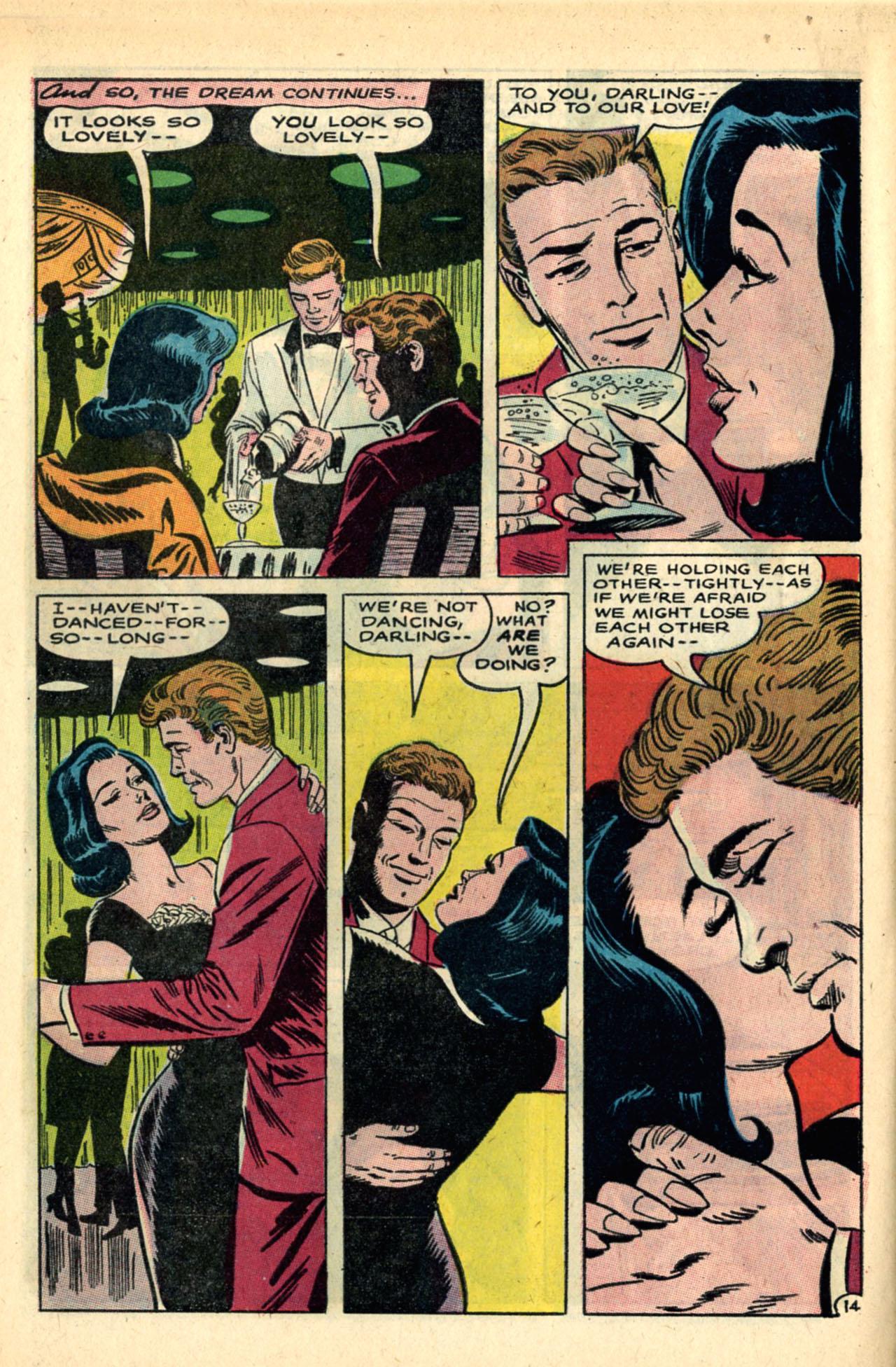 Read online Secret Hearts comic -  Issue #120 - 32