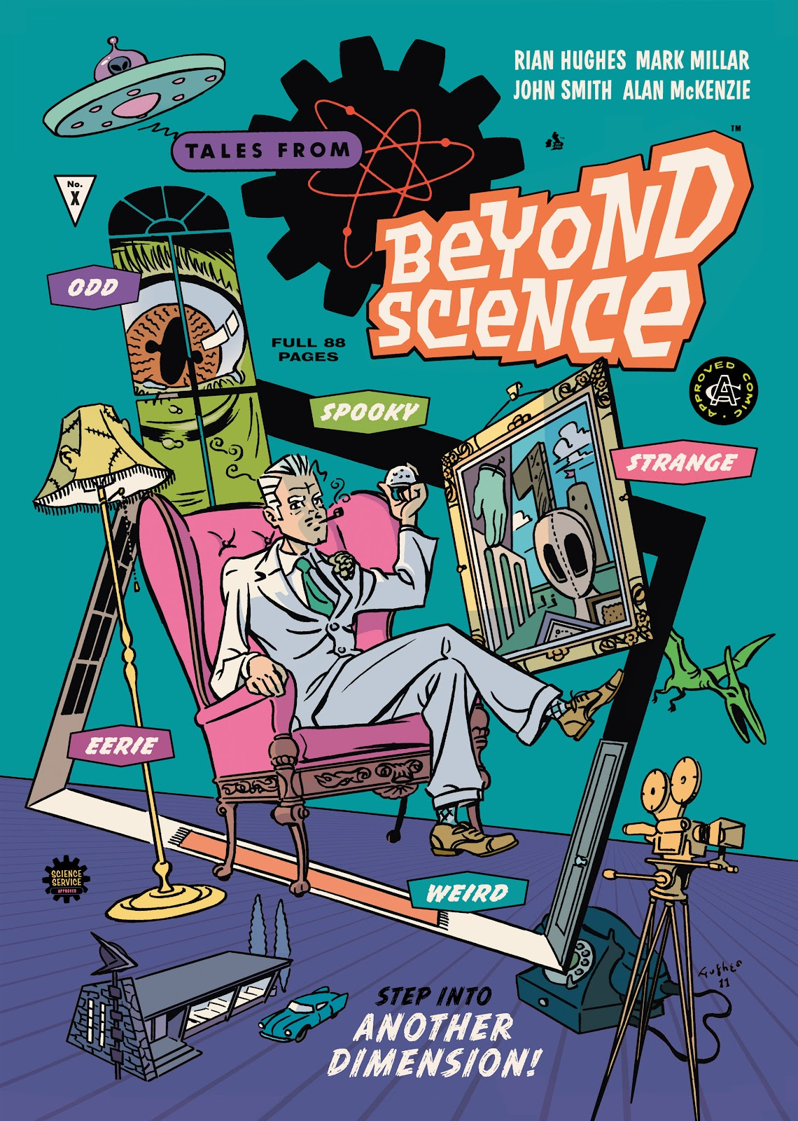 Read online Tales from Beyond Science comic -  Issue # TPB - 1