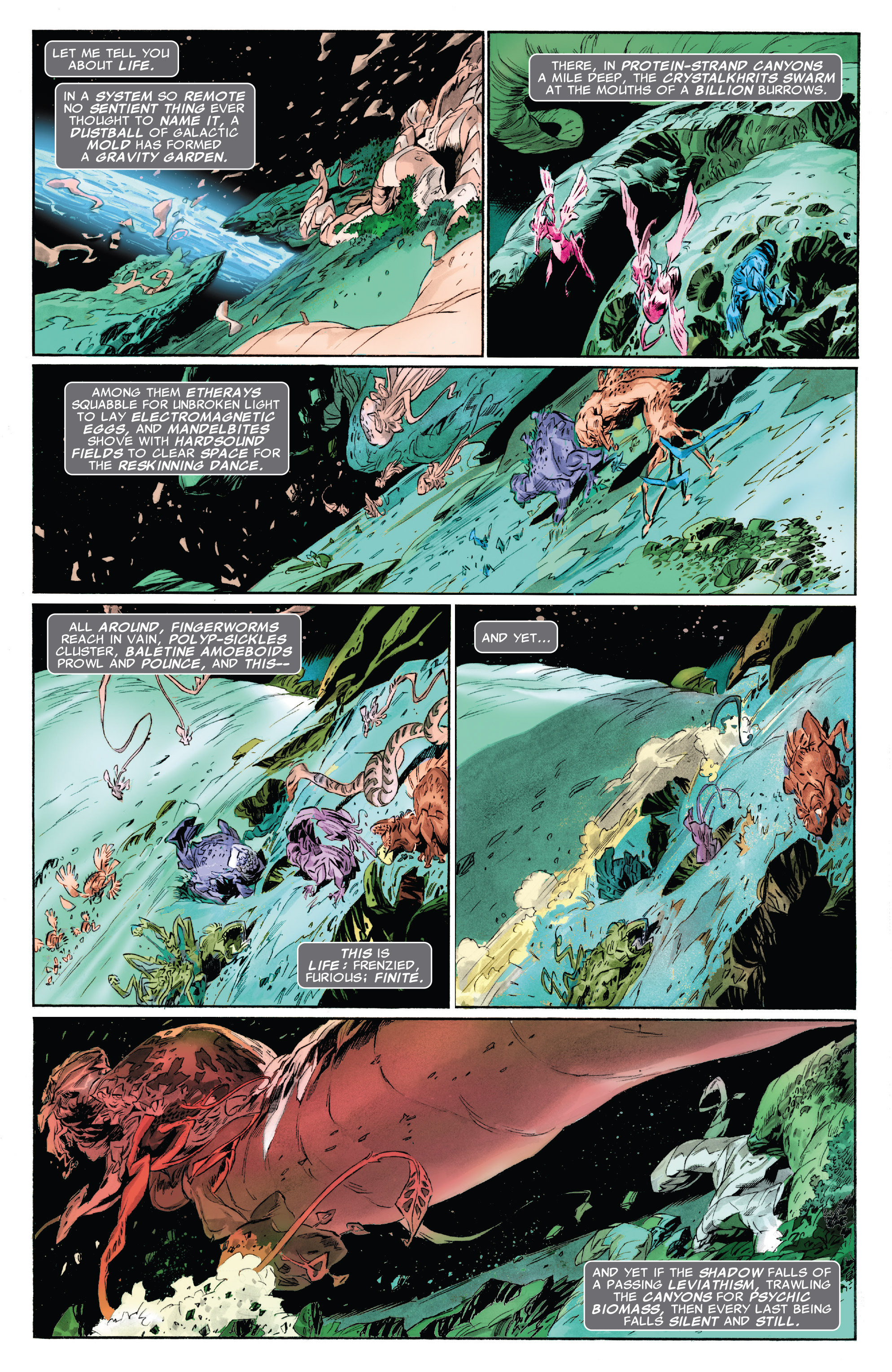 Read online Silver Surfer: In Thy Name comic -  Issue #4 - 3