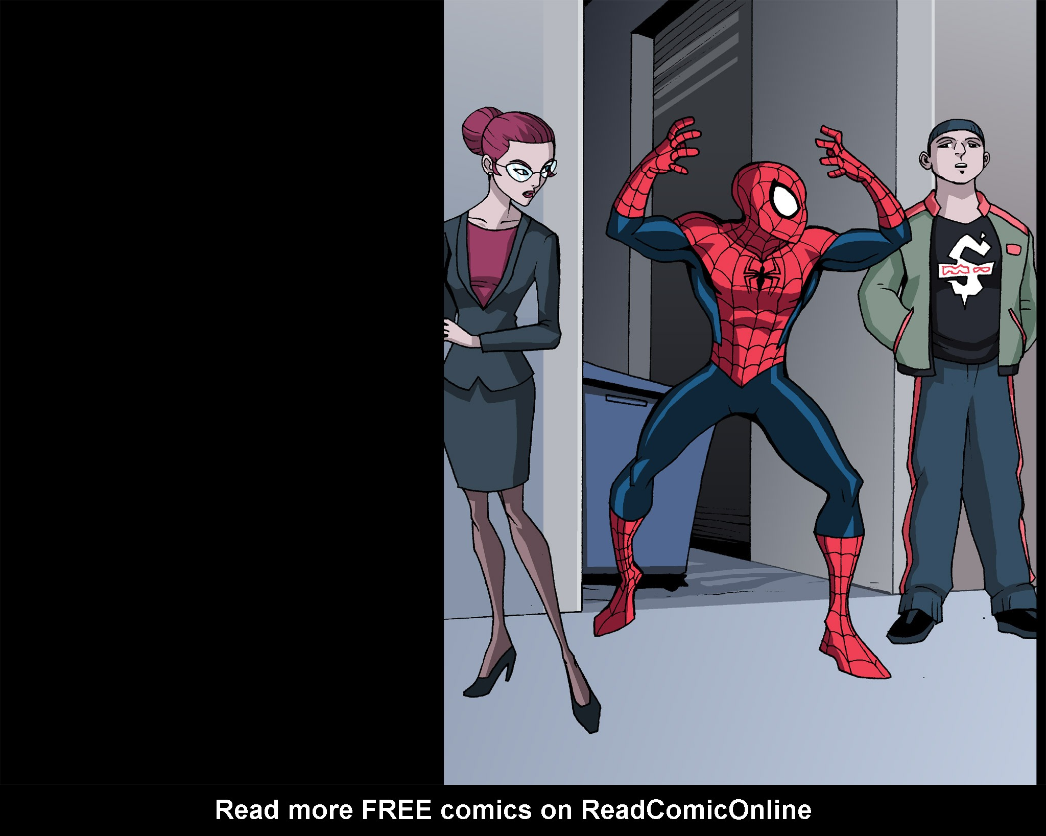 Read online Ultimate Spider-Man (Infinite Comics) (2015) comic -  Issue #12 - 35