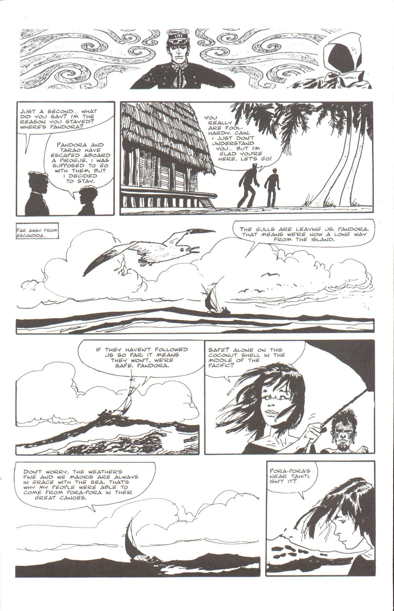 Read online Corto Maltese: Ballad of the Salt Sea comic -  Issue #5 - 19
