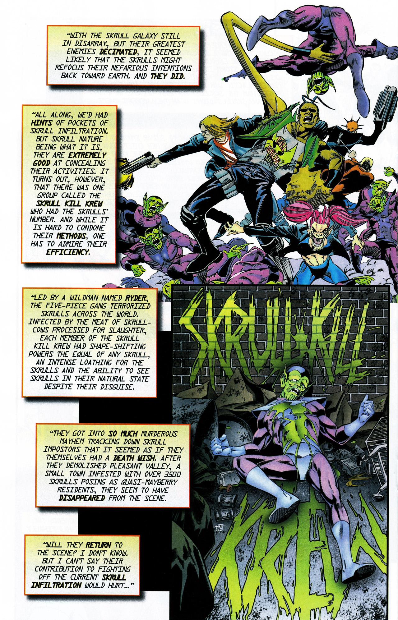 Read online Secret Invasion Saga comic -  Issue # Full - 18