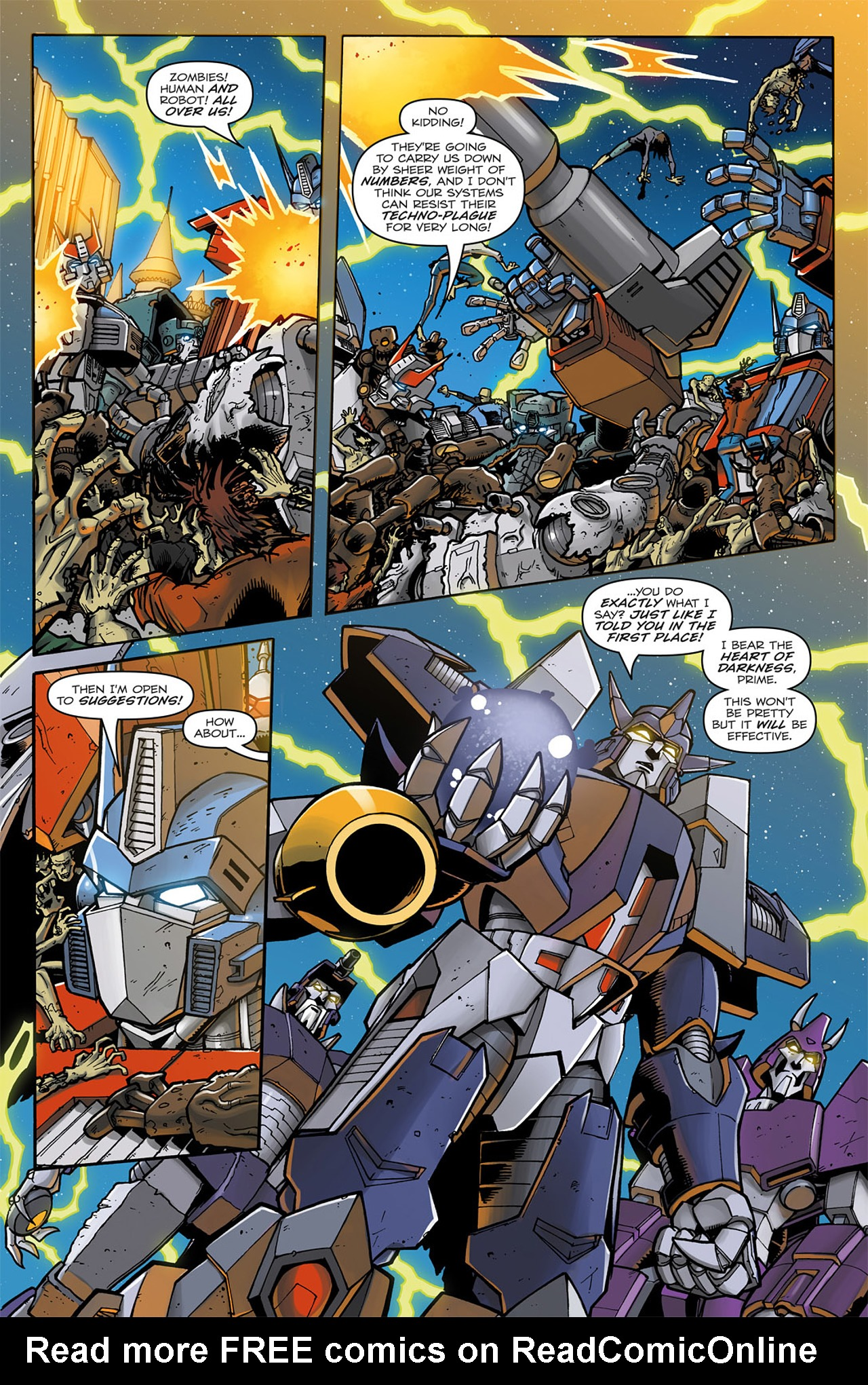 Read online Transformers: Infestation comic -  Issue #2 - 12