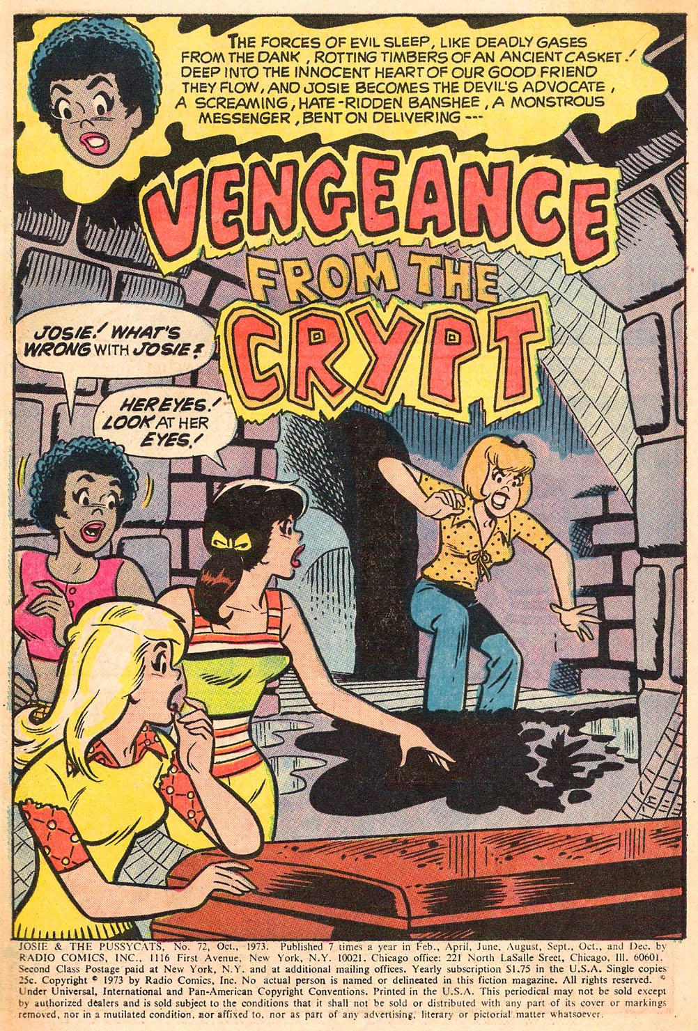 Read online She's Josie comic -  Issue #72 - 3