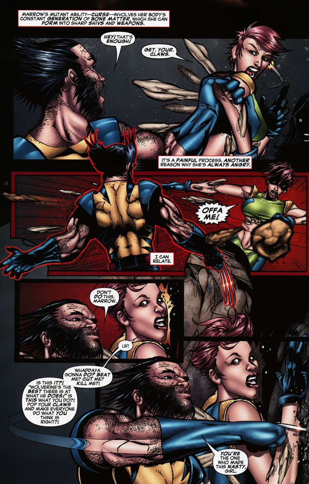 Read online Wolverine (2003) comic -  Issue #900 - 39