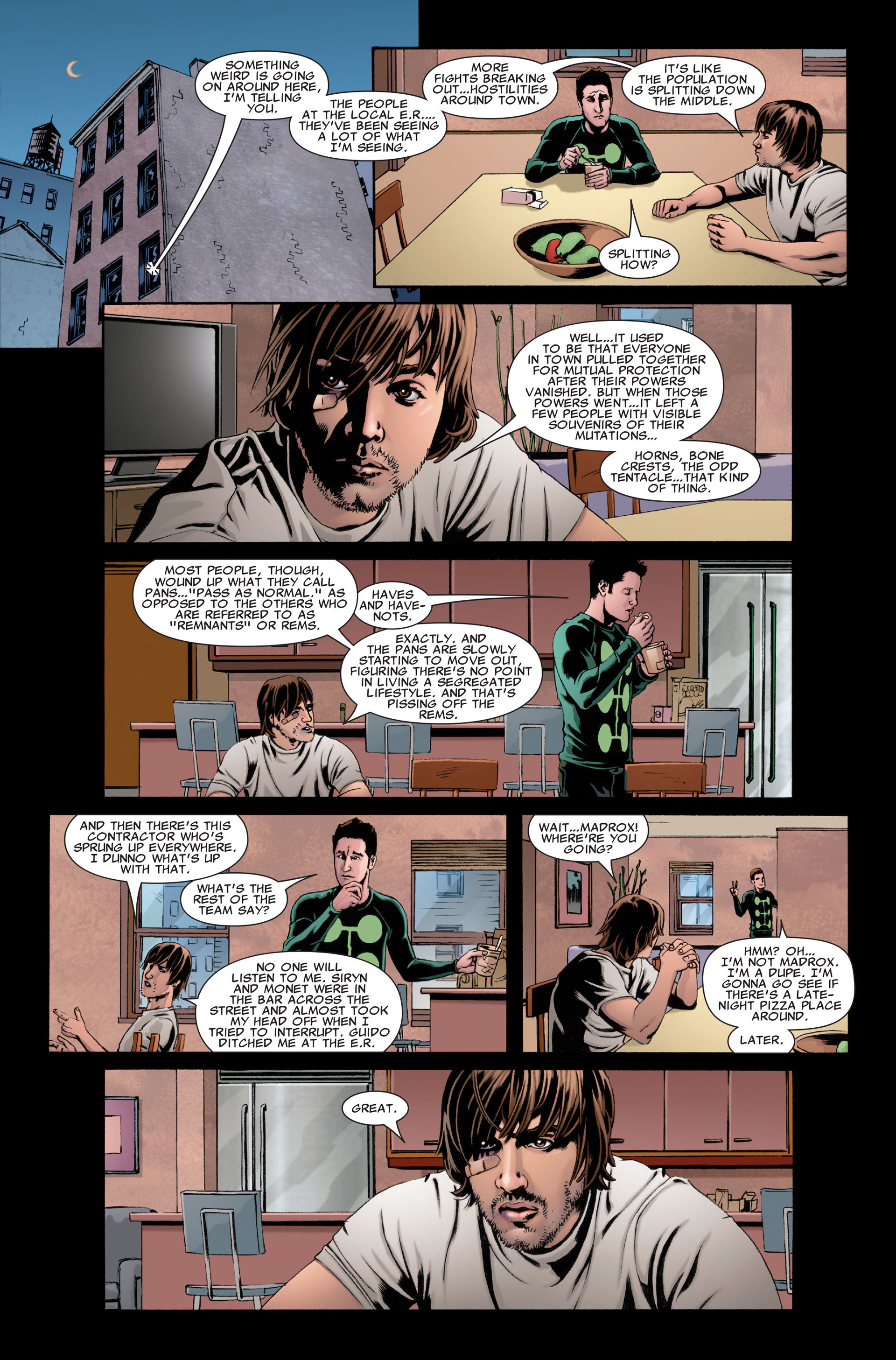 Read online X-Factor (2006) comic -  Issue #28 - 22