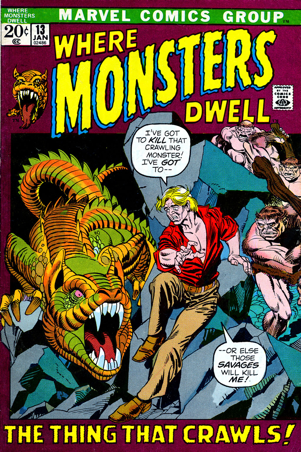 Where Monsters Dwell (1970) issue 13 - Page 1