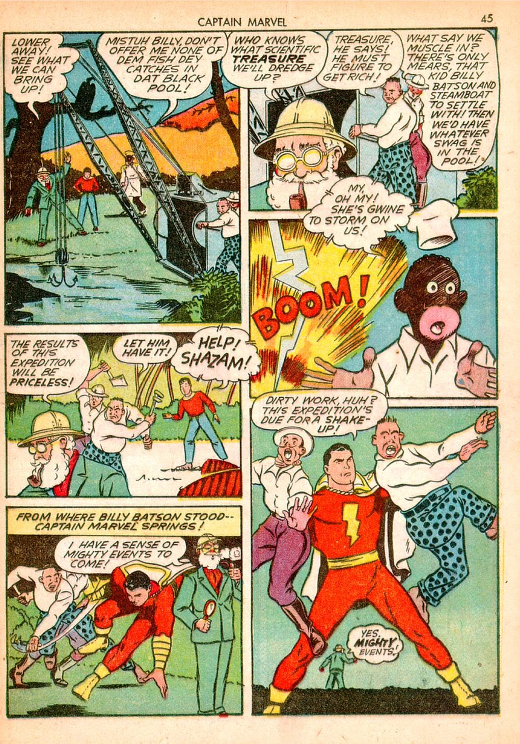 Captain Marvel Adventures issue 10 - Page 45