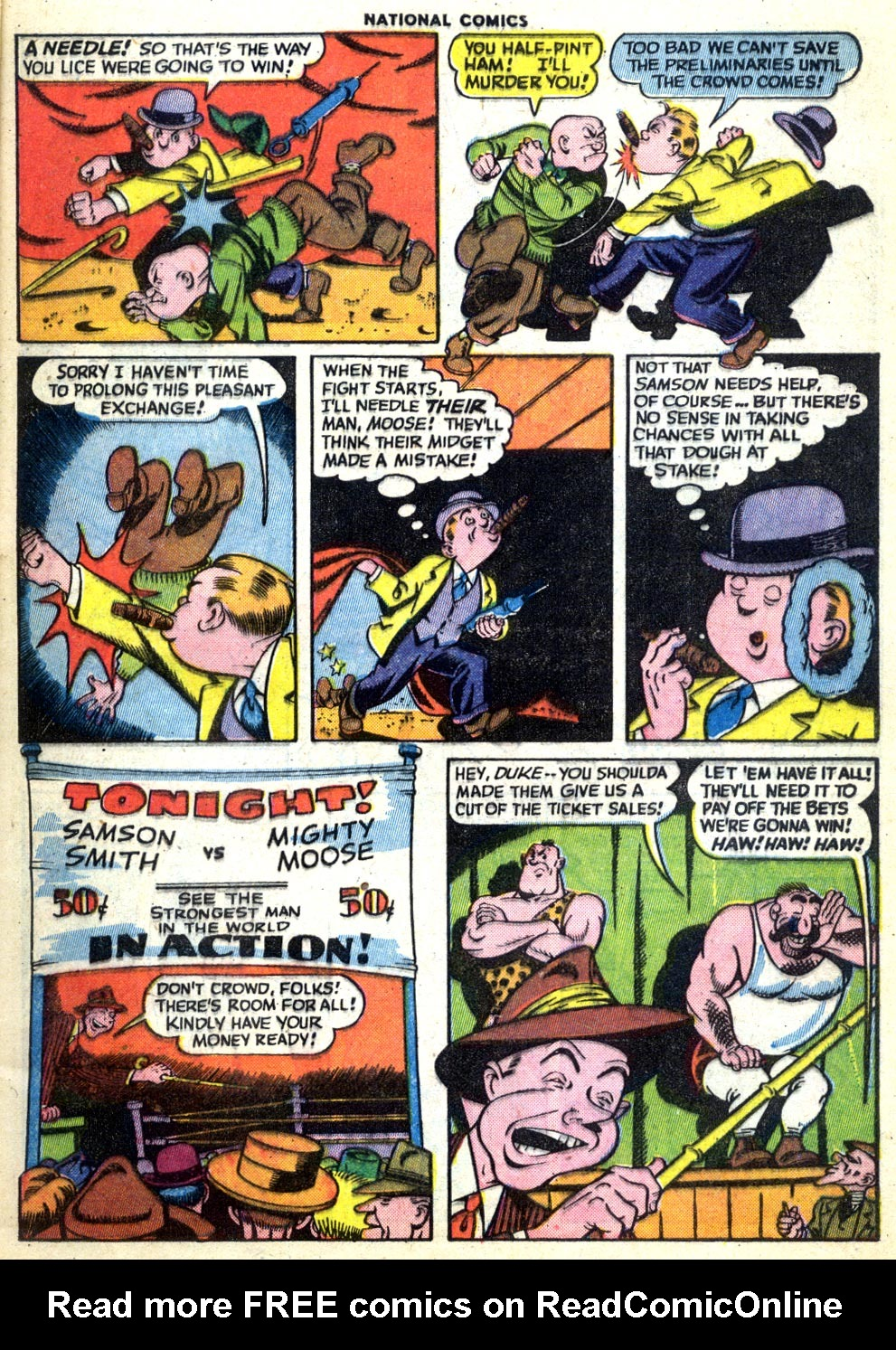 National Comics (1940) issue 47 - Page 9
