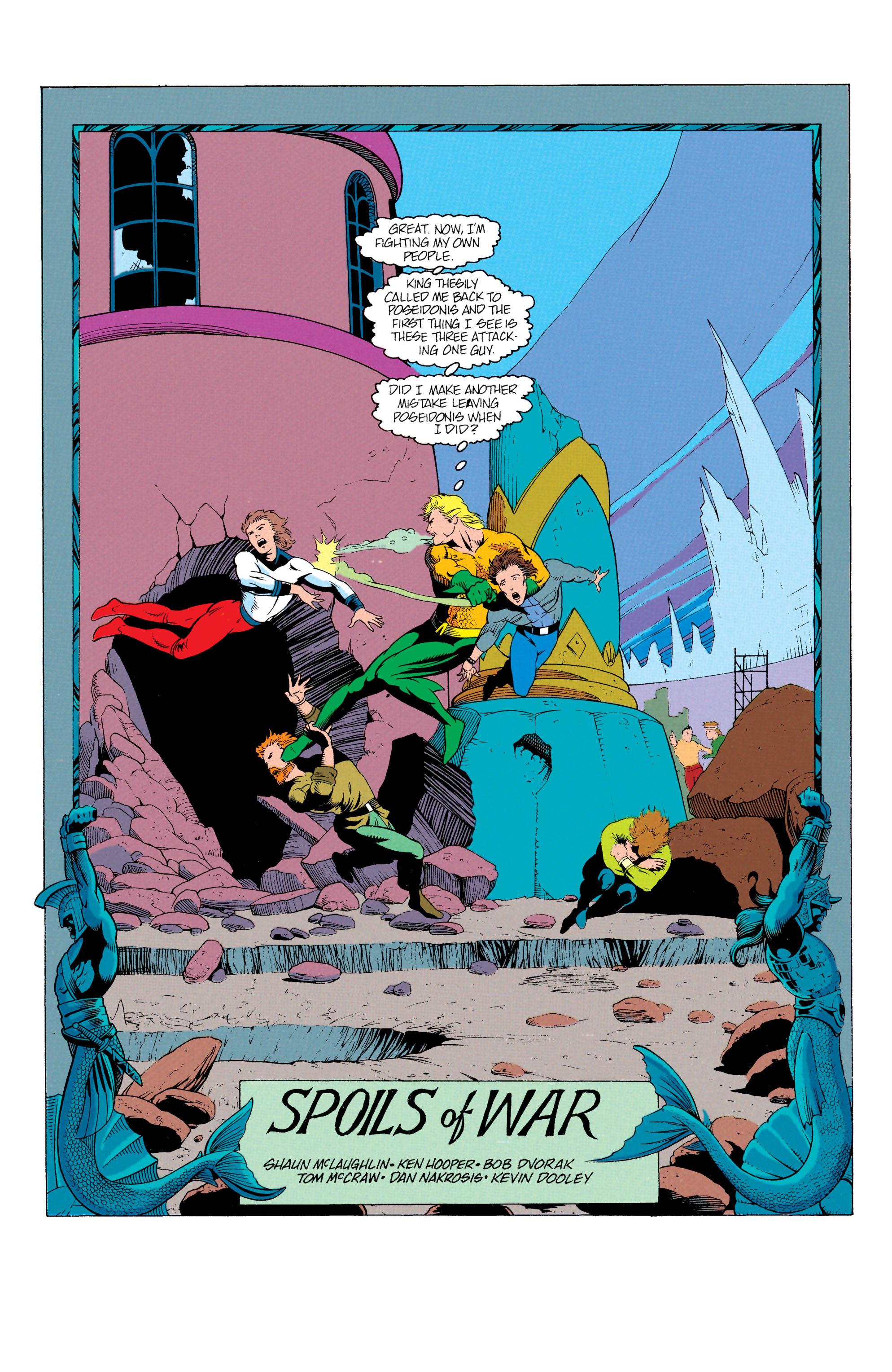 Read online Aquaman (1991) comic -  Issue #12 - 2