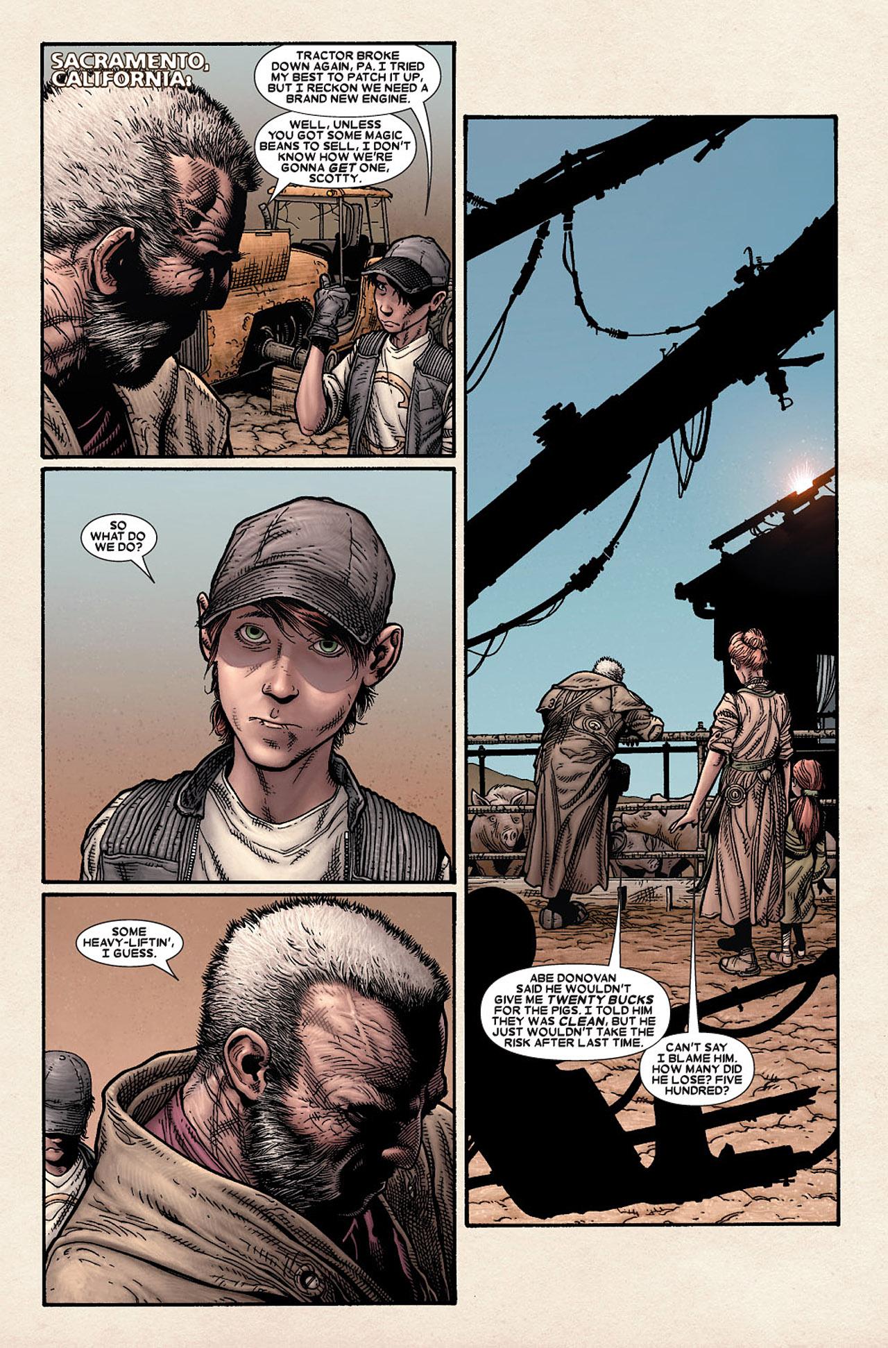 Read online Wolverine: Old Man Logan comic -  Issue # Full - 7