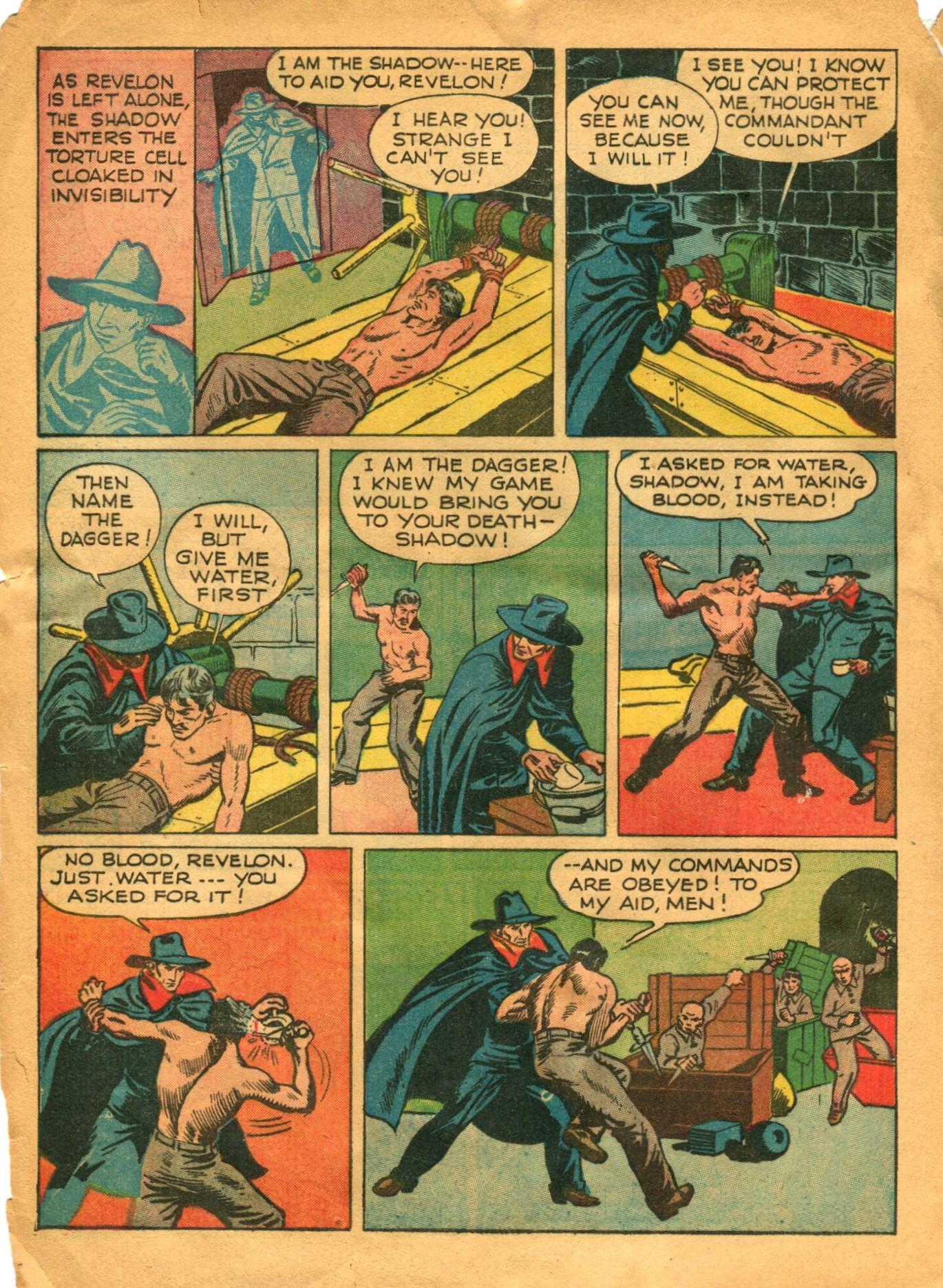 Read online Shadow Comics comic -  Issue #12 - 14