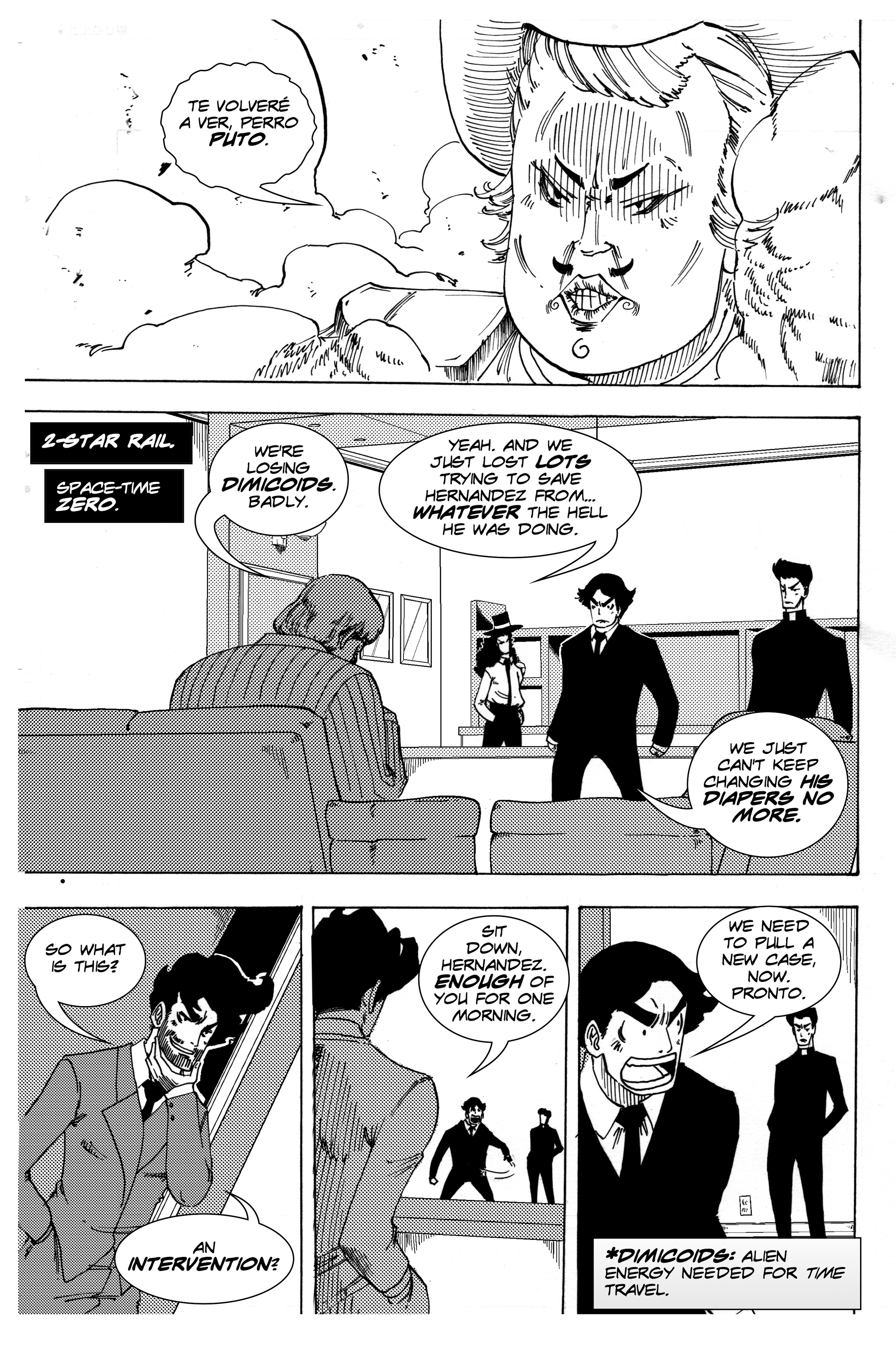 Read online Silvertongue 30xx Vol. 3 comic -  Issue # Full - 12