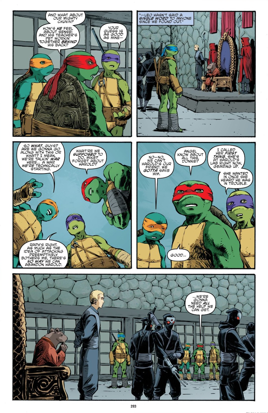 Read online Teenage Mutant Ninja Turtles: The IDW Collection comic -  Issue # TPB 7 (Part 3) - 74