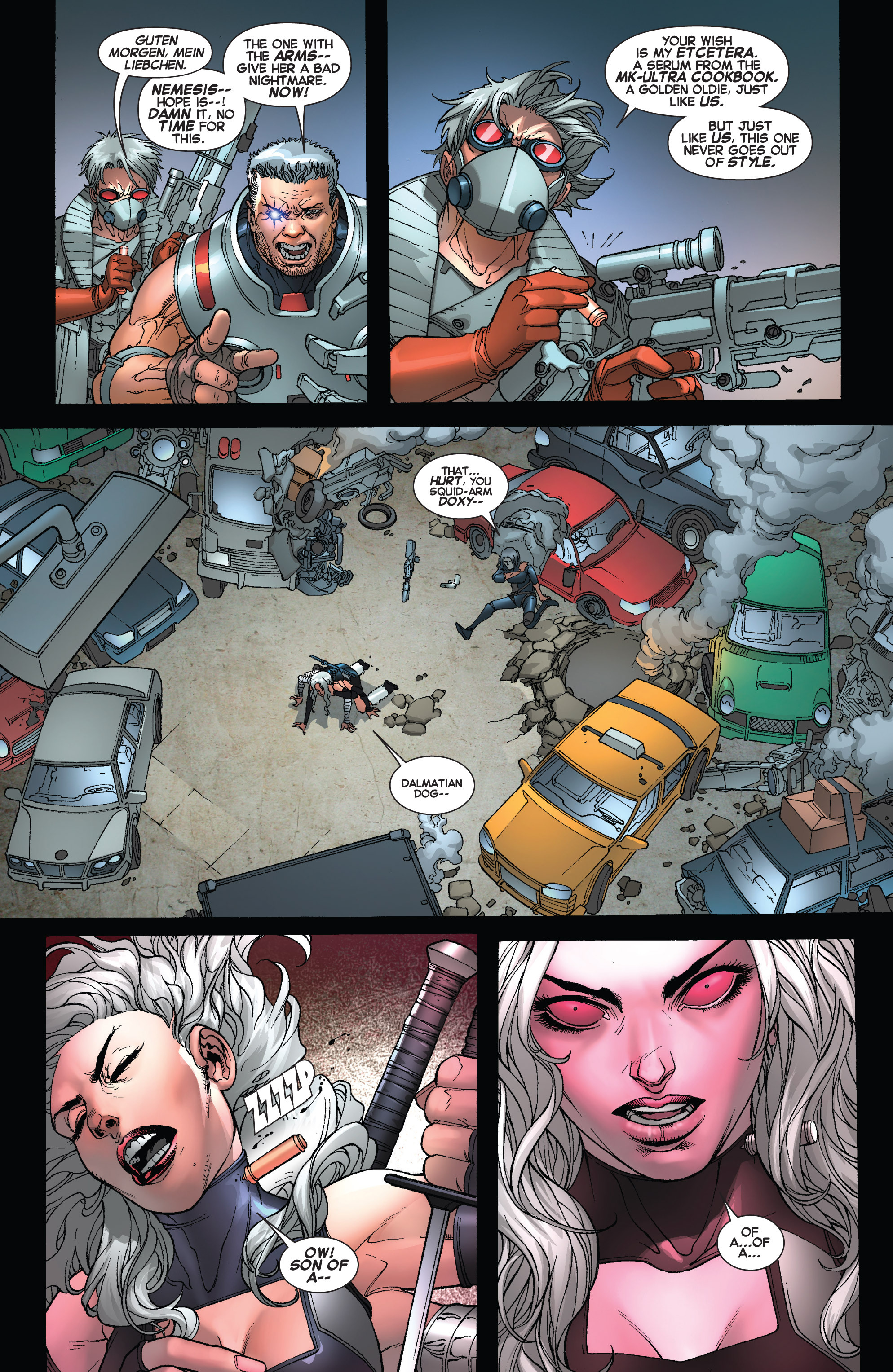 Read online Uncanny X-Force (2013) comic -  Issue #16 - 20