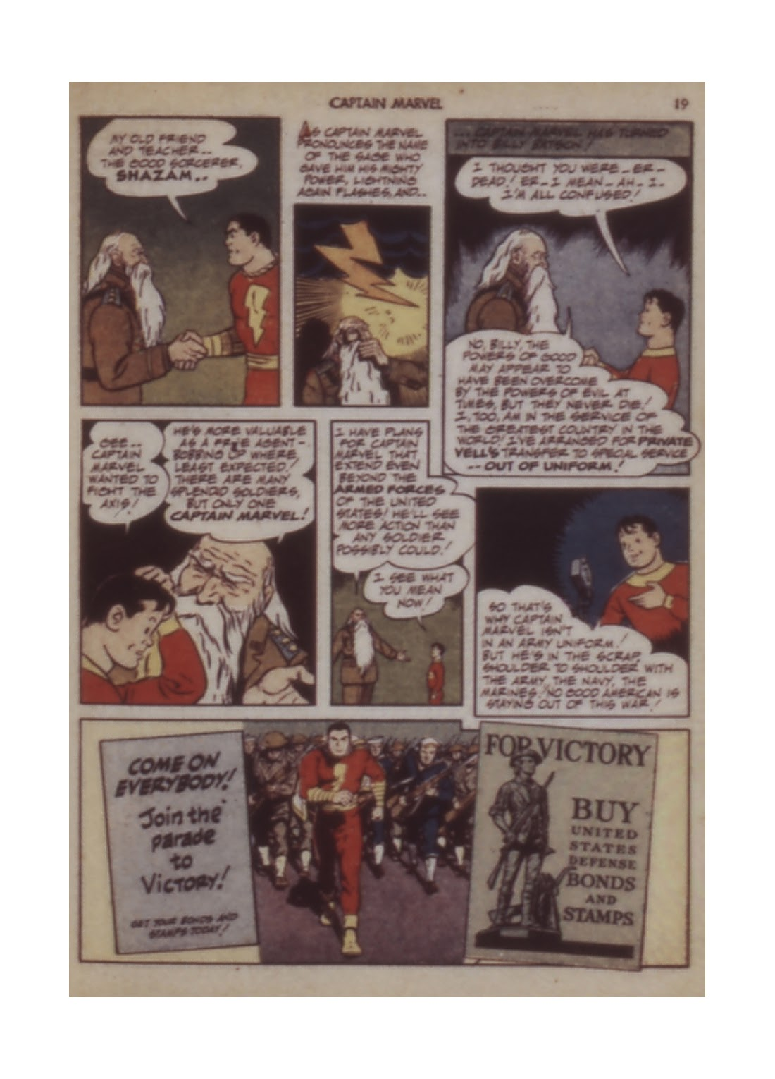 Captain Marvel Adventures issue 12 - Page 19