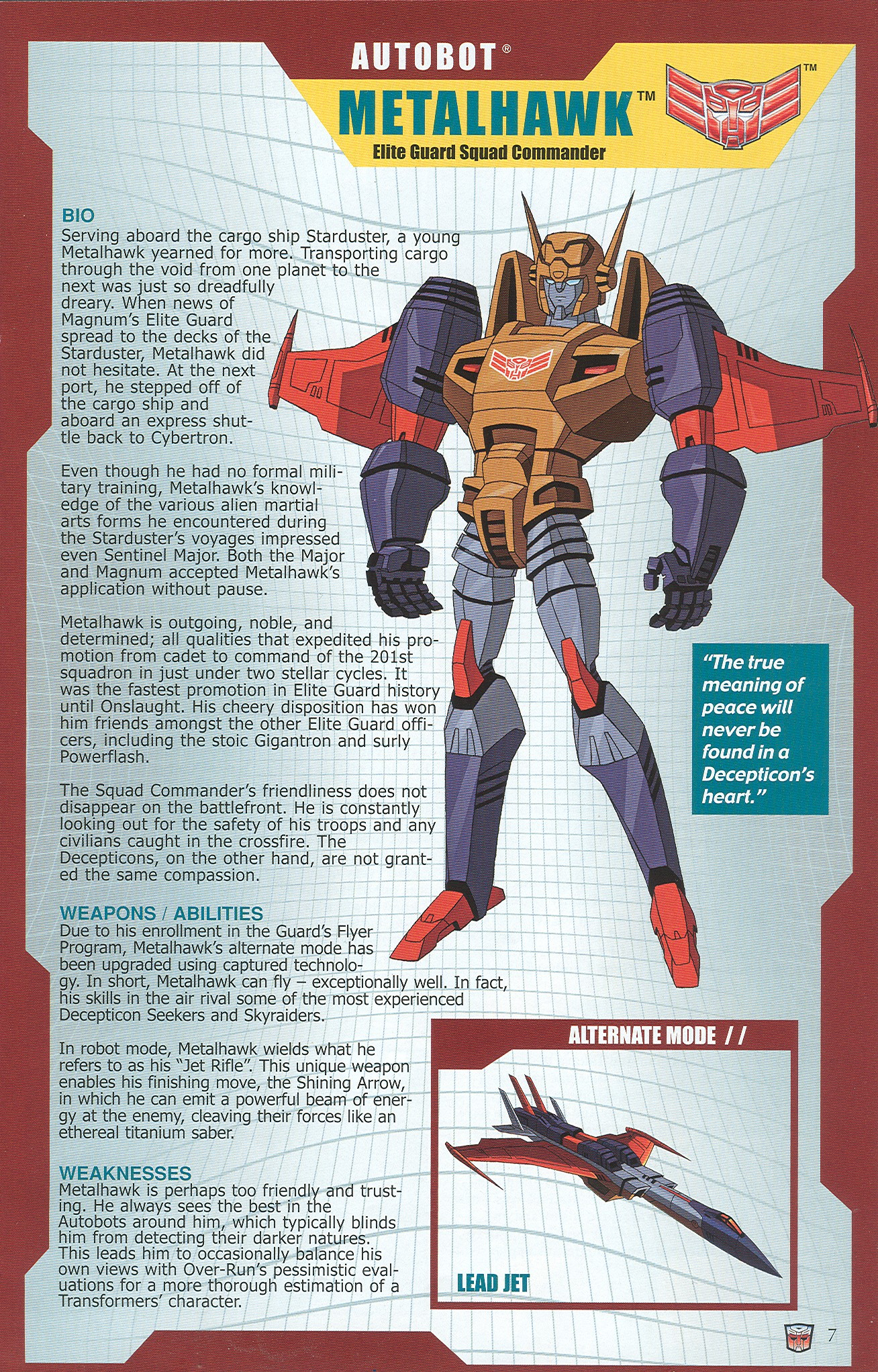 Read online Transformers: Collectors' Club comic -  Issue #34 - 7