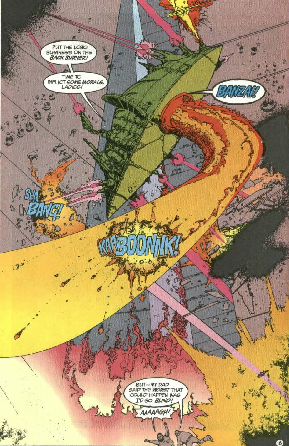 Read online Lobo (1990) comic -  Issue #4 - 18